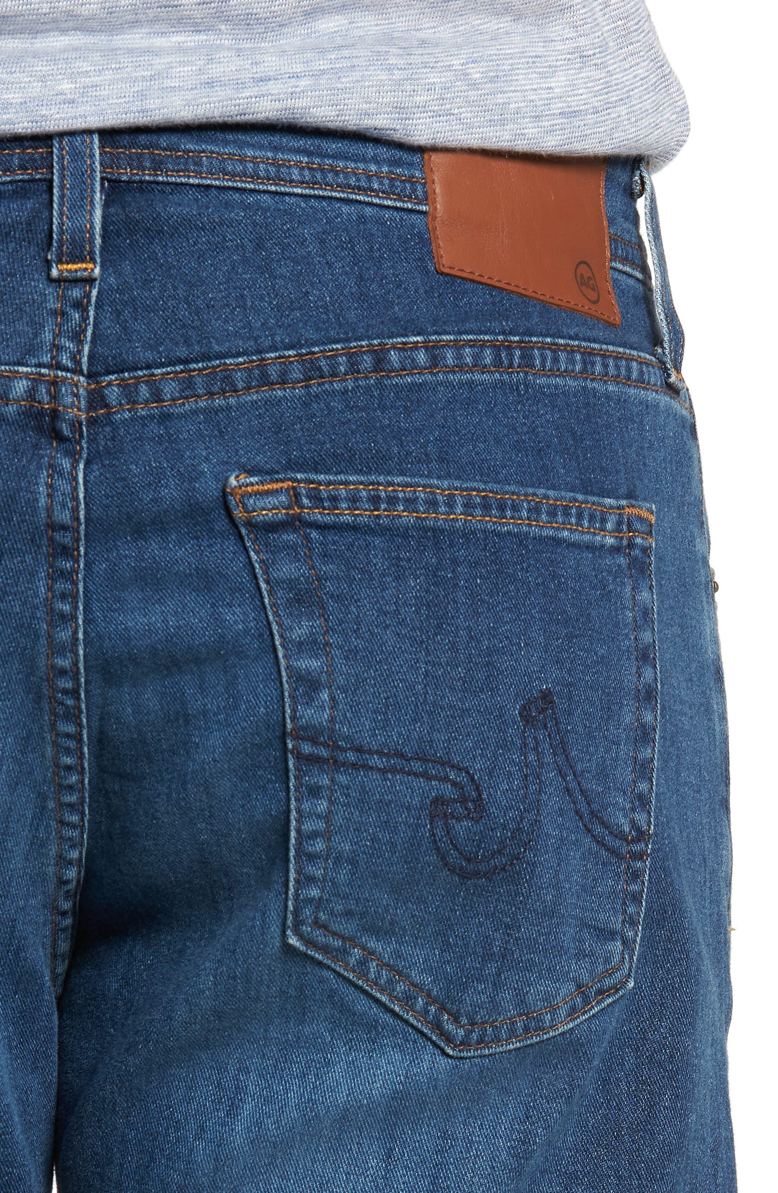 Ives Straight Leg Jeans,                             Alternate thumbnail 4, color,                             EDITION