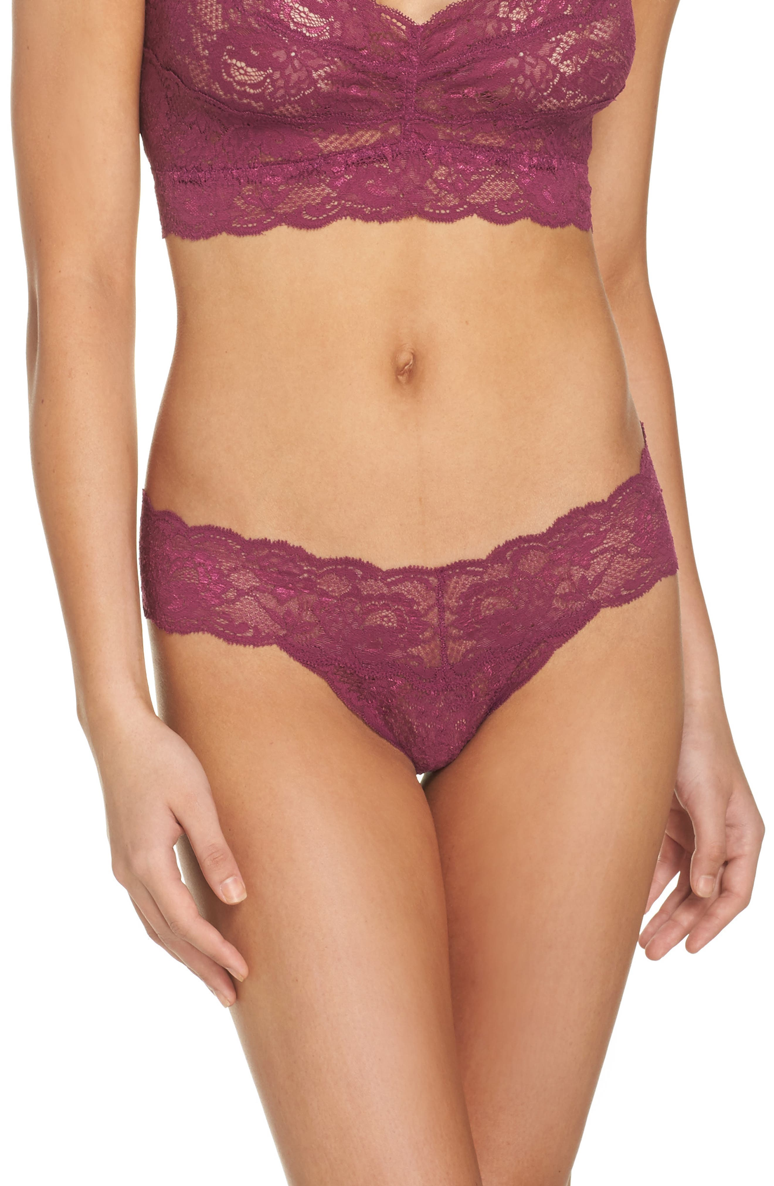 'Never Say Never Cutie' Thong,                             Alternate thumbnail 119, color,