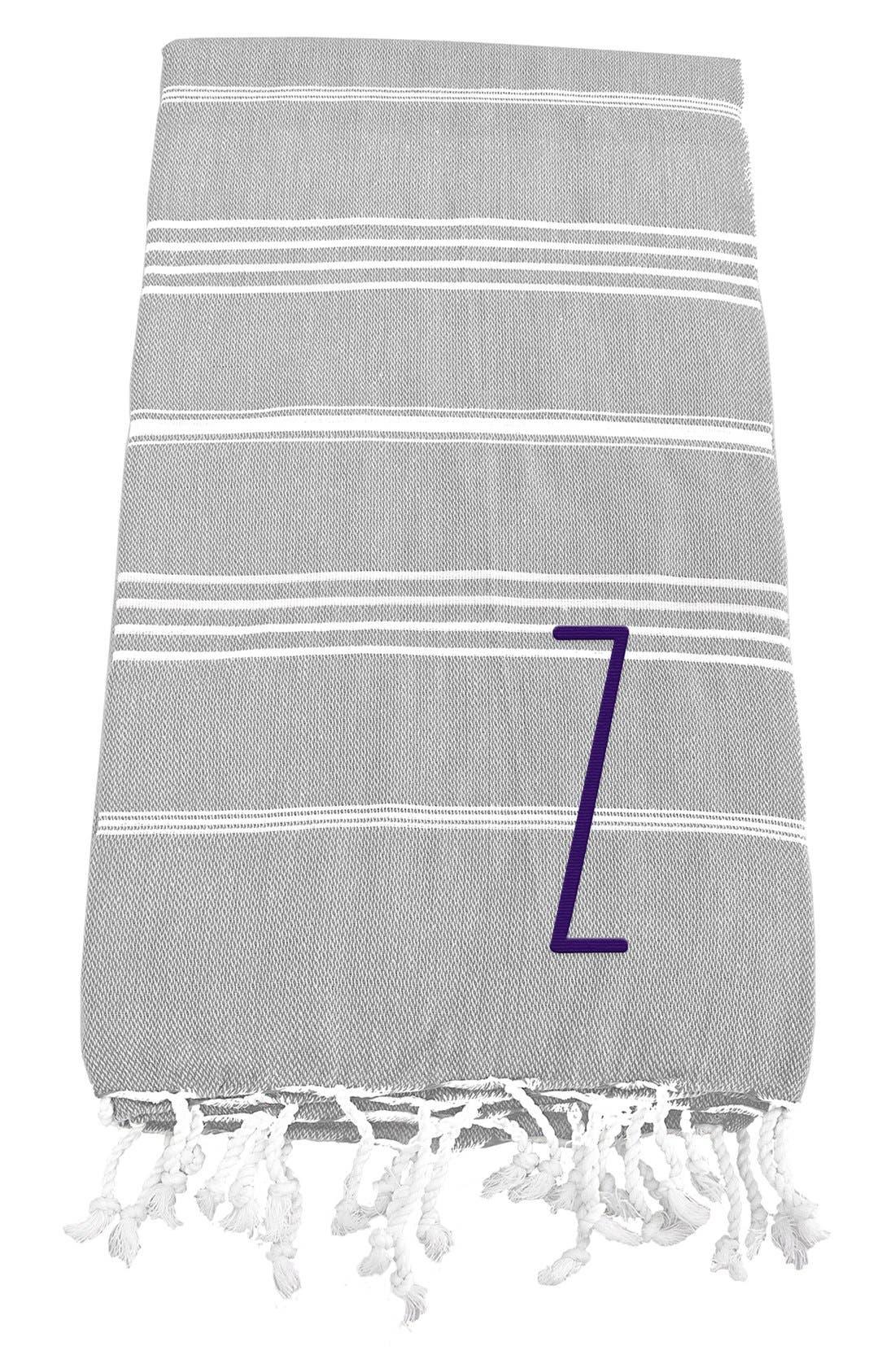 Monogram Turkish Cotton Towel,                             Main thumbnail 28, color,