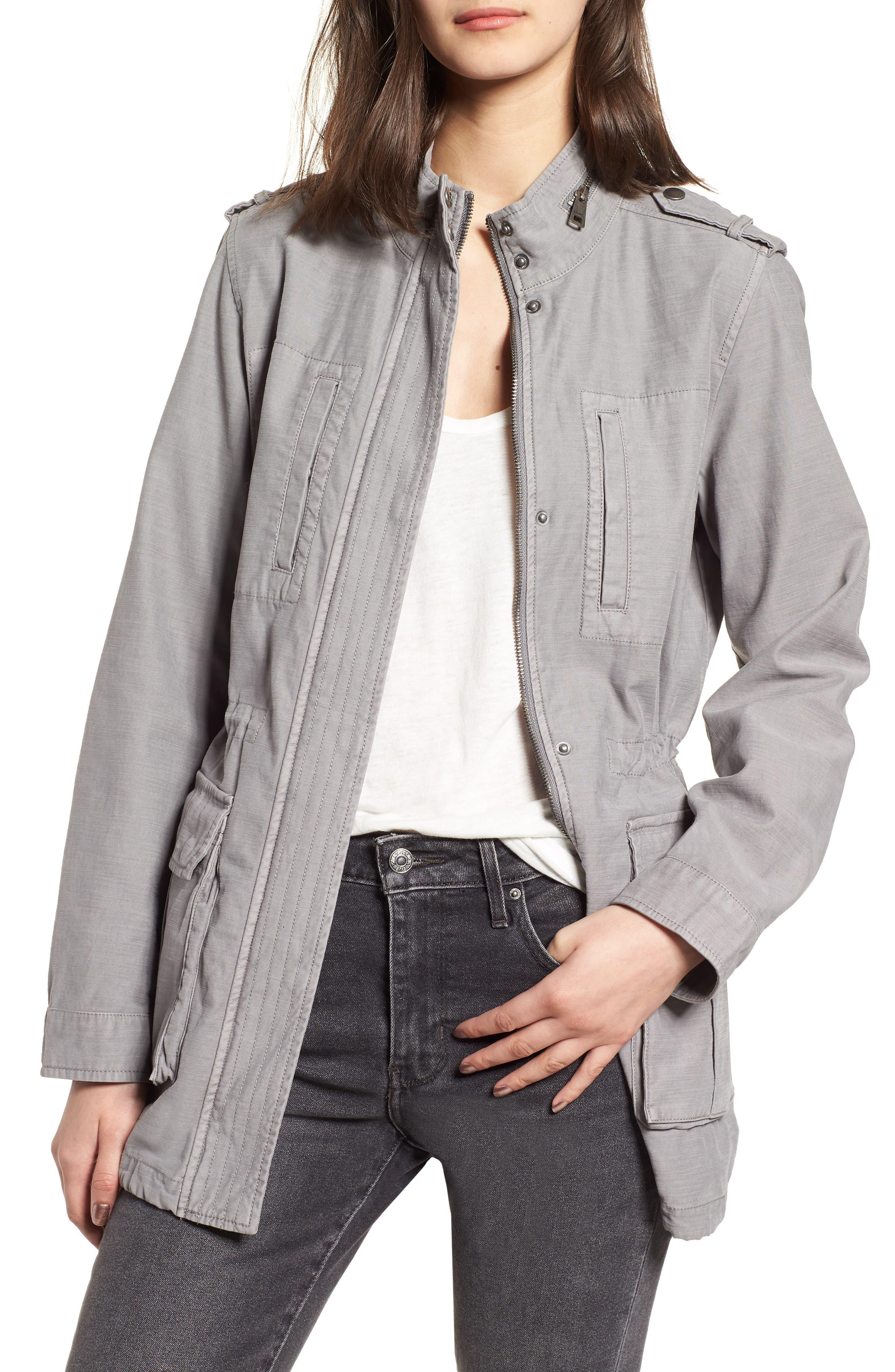Cotton 4-Pocket Jacket,                             Main thumbnail 1, color,                             030