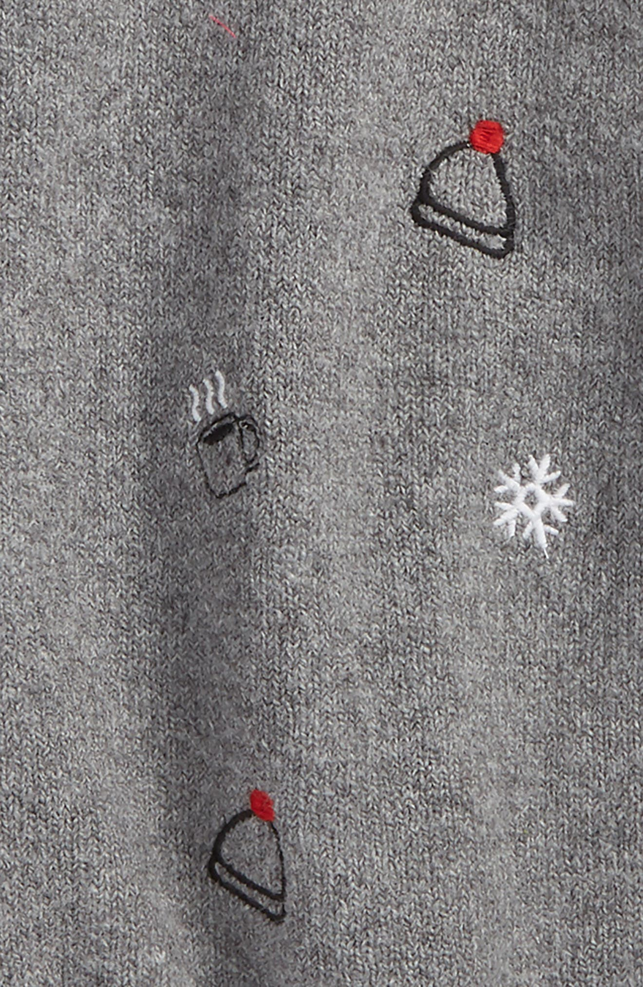 Embroidered Sweater,                             Alternate thumbnail 2, color,                             030