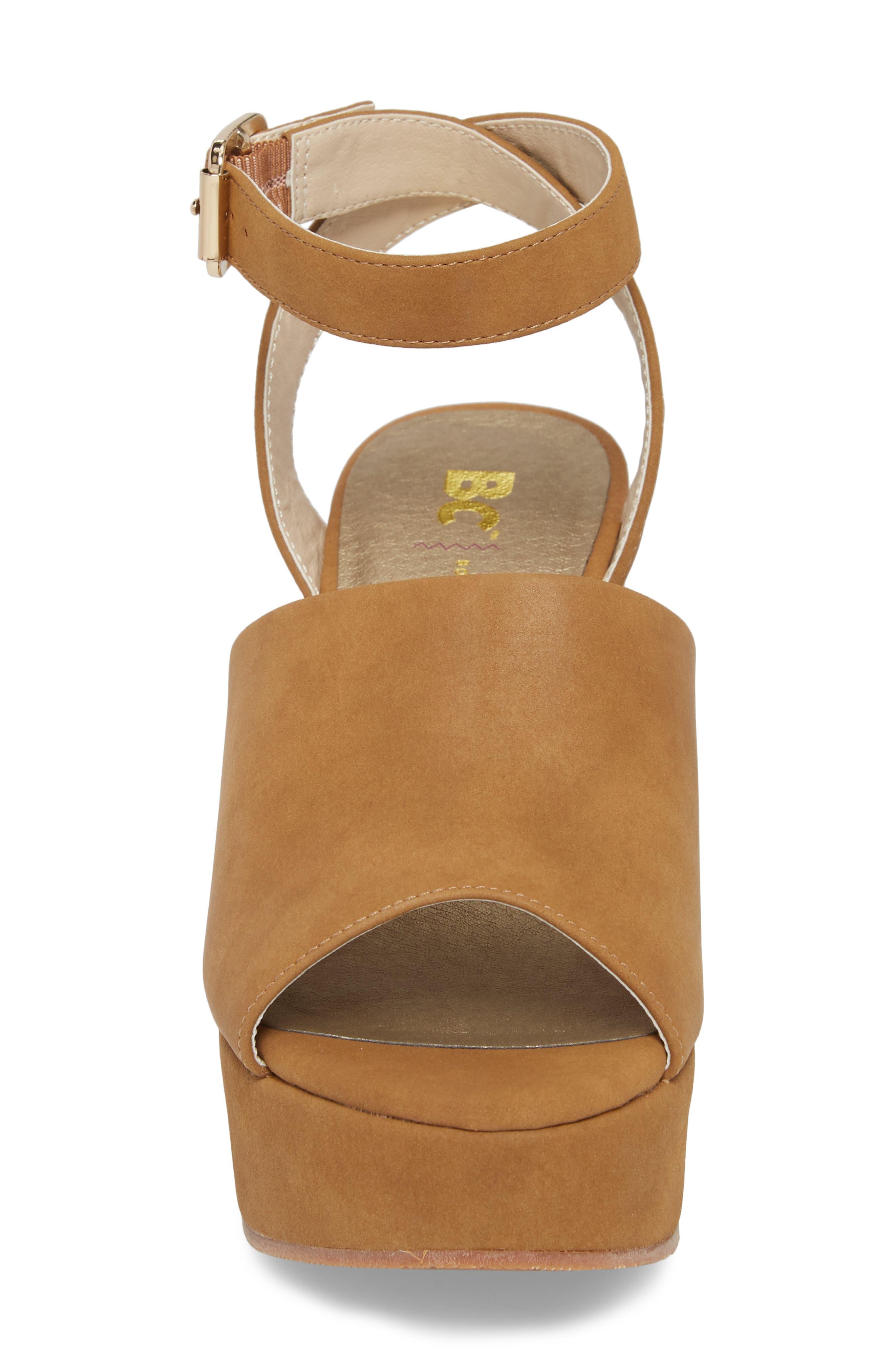Admit One Platform Wedge Sandal,                             Alternate thumbnail 8, color,
