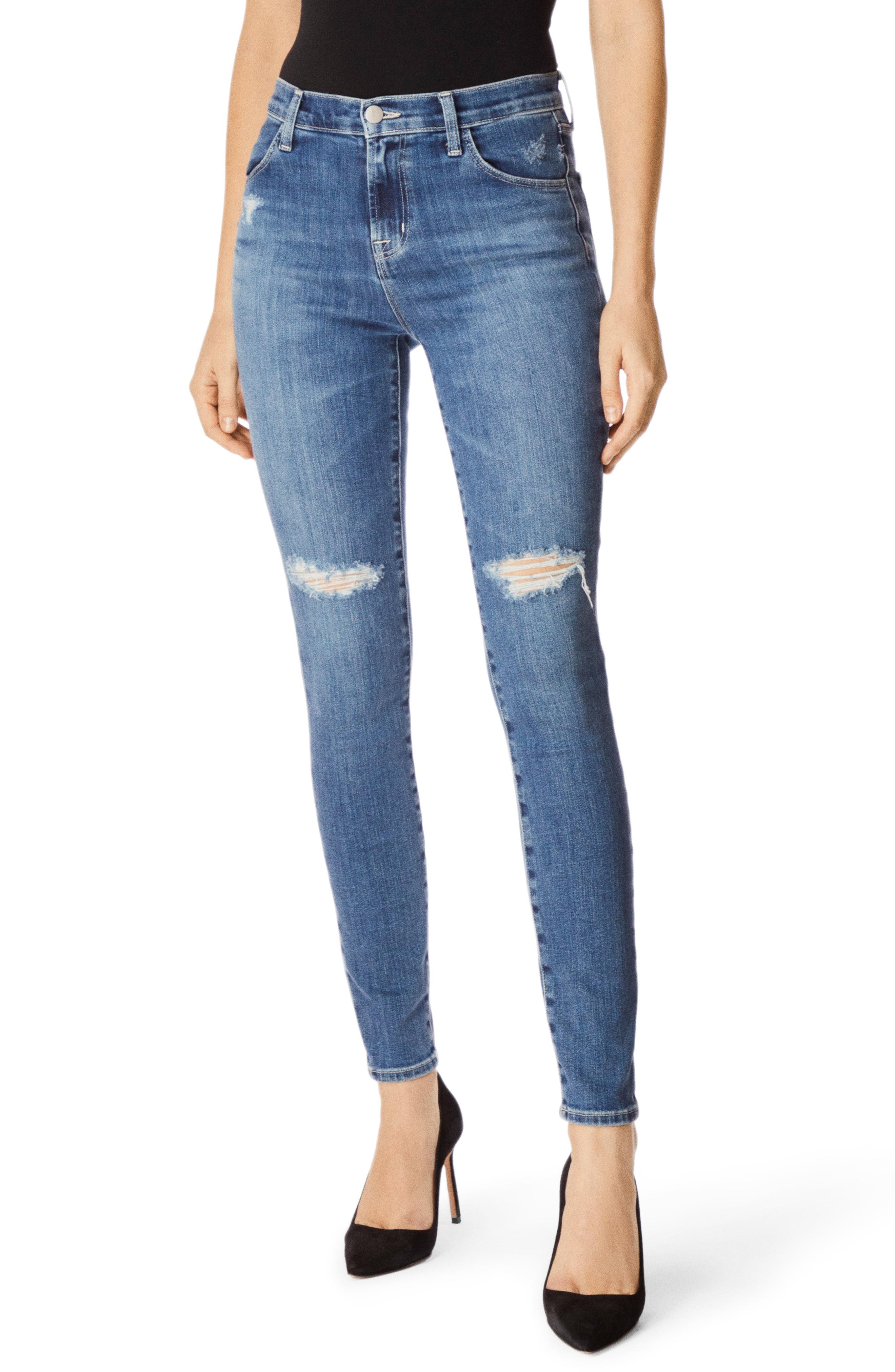 J Brand Jeans MARIA HIGH WAIST SKINNY JEANS