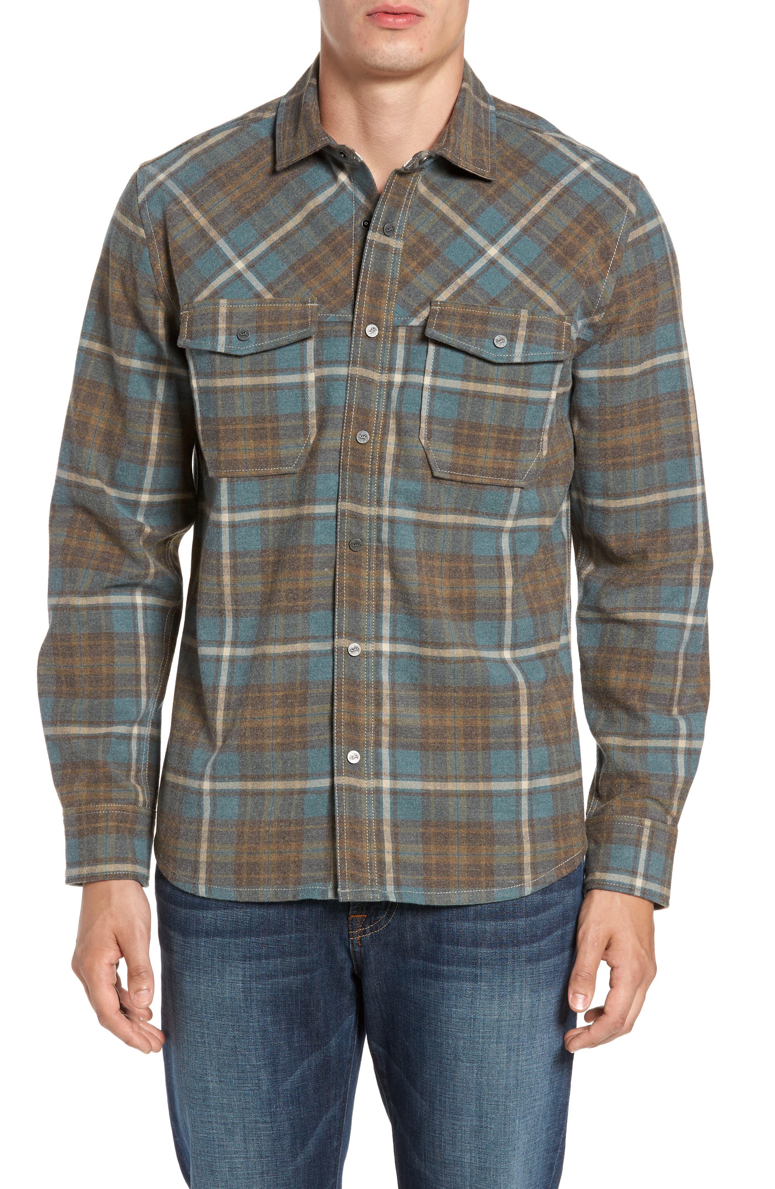 Ranger Plaid Shirt,                         Main,                         color, 424