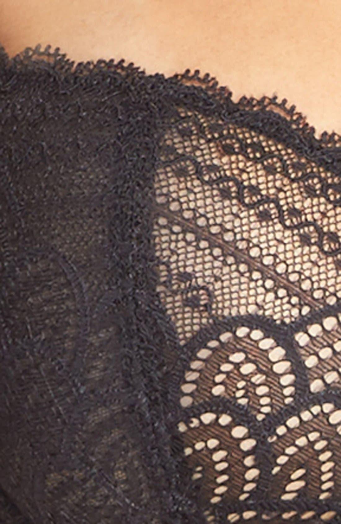 Merci Underwire Demi Bra,                             Alternate thumbnail 6, color,                             001