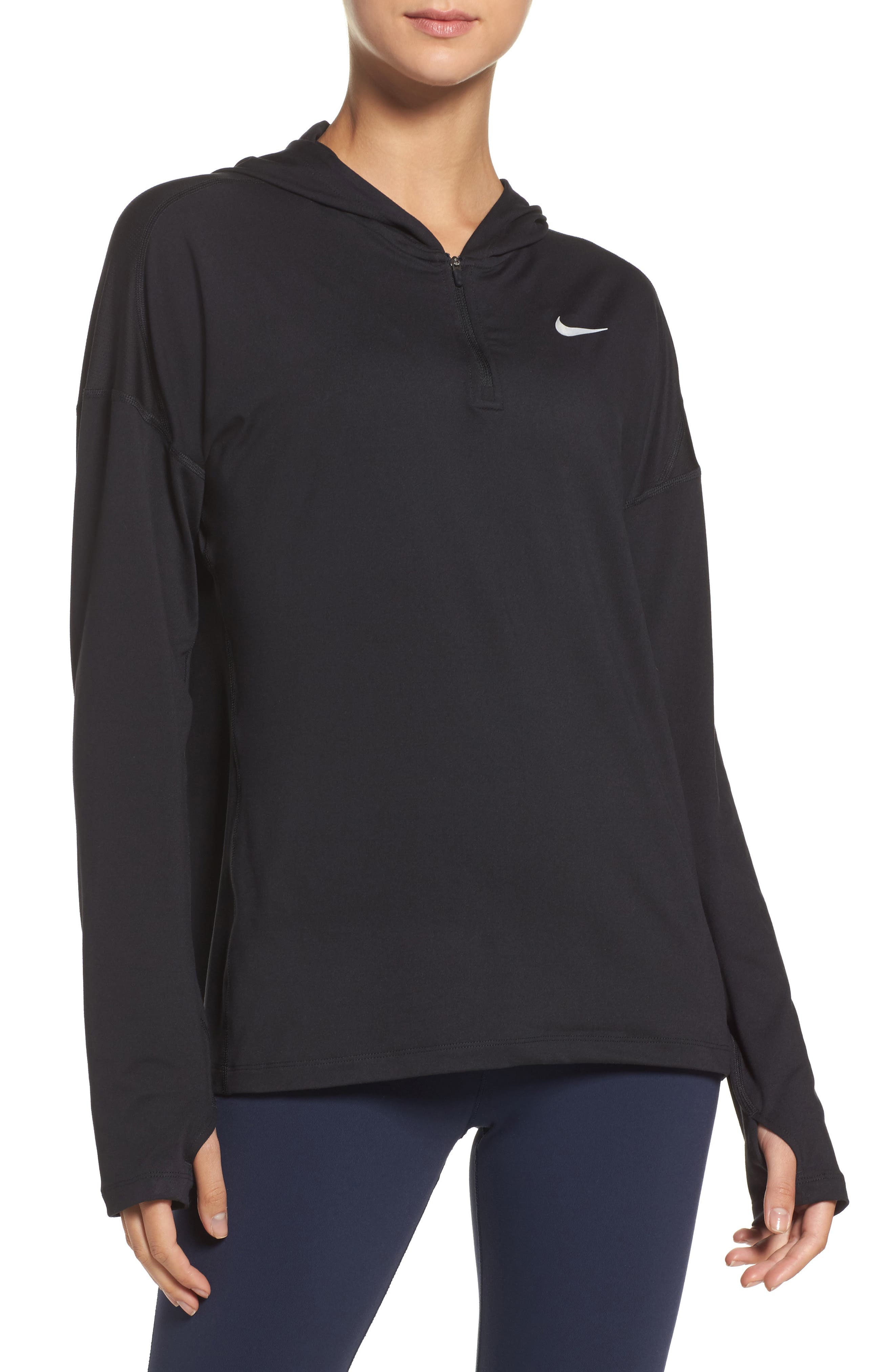 Dry Element Running Hoodie,                         Main,                         color, 010