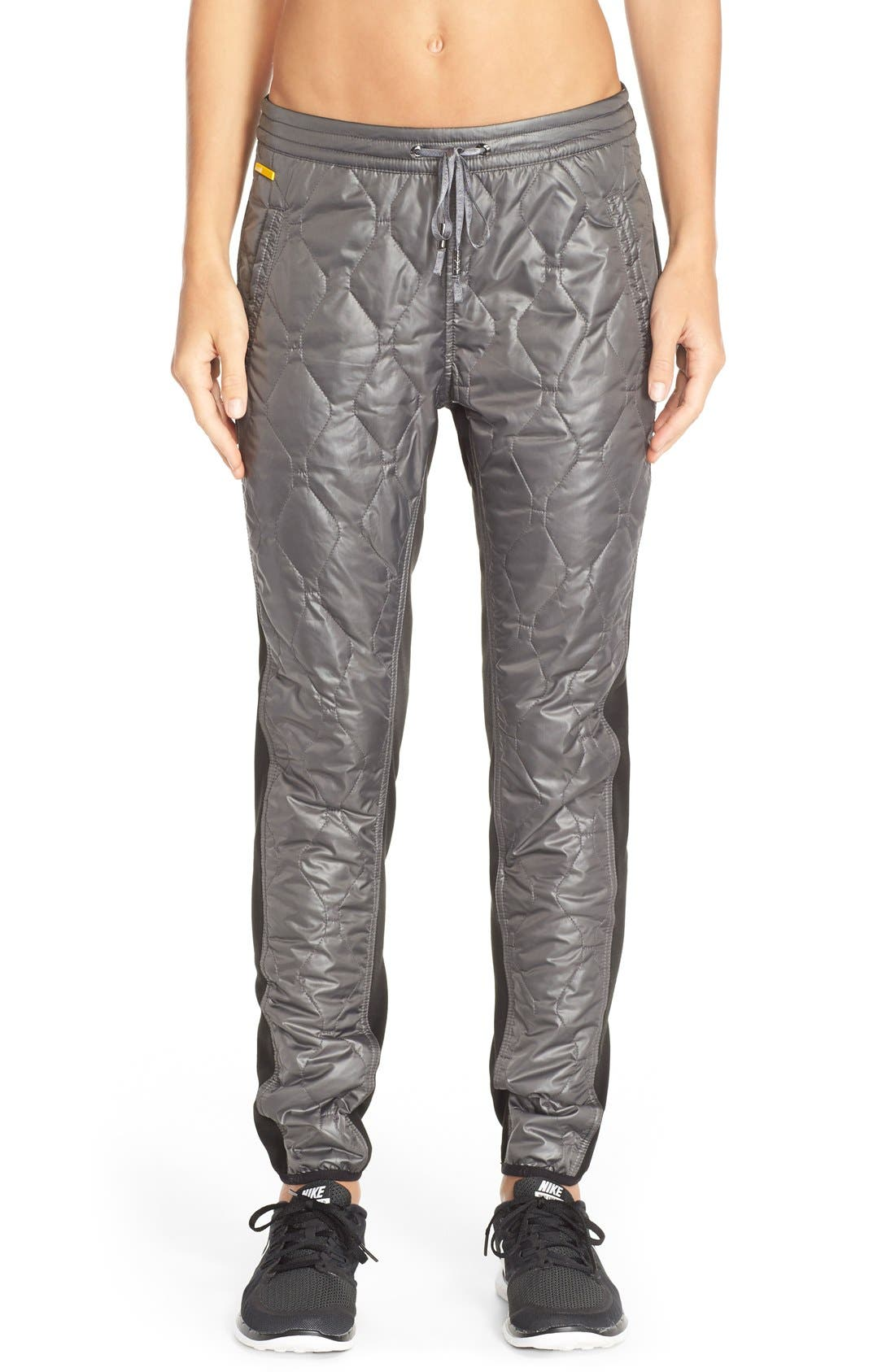 'Magic' Windproof Quilted Pants, Main, color, 020