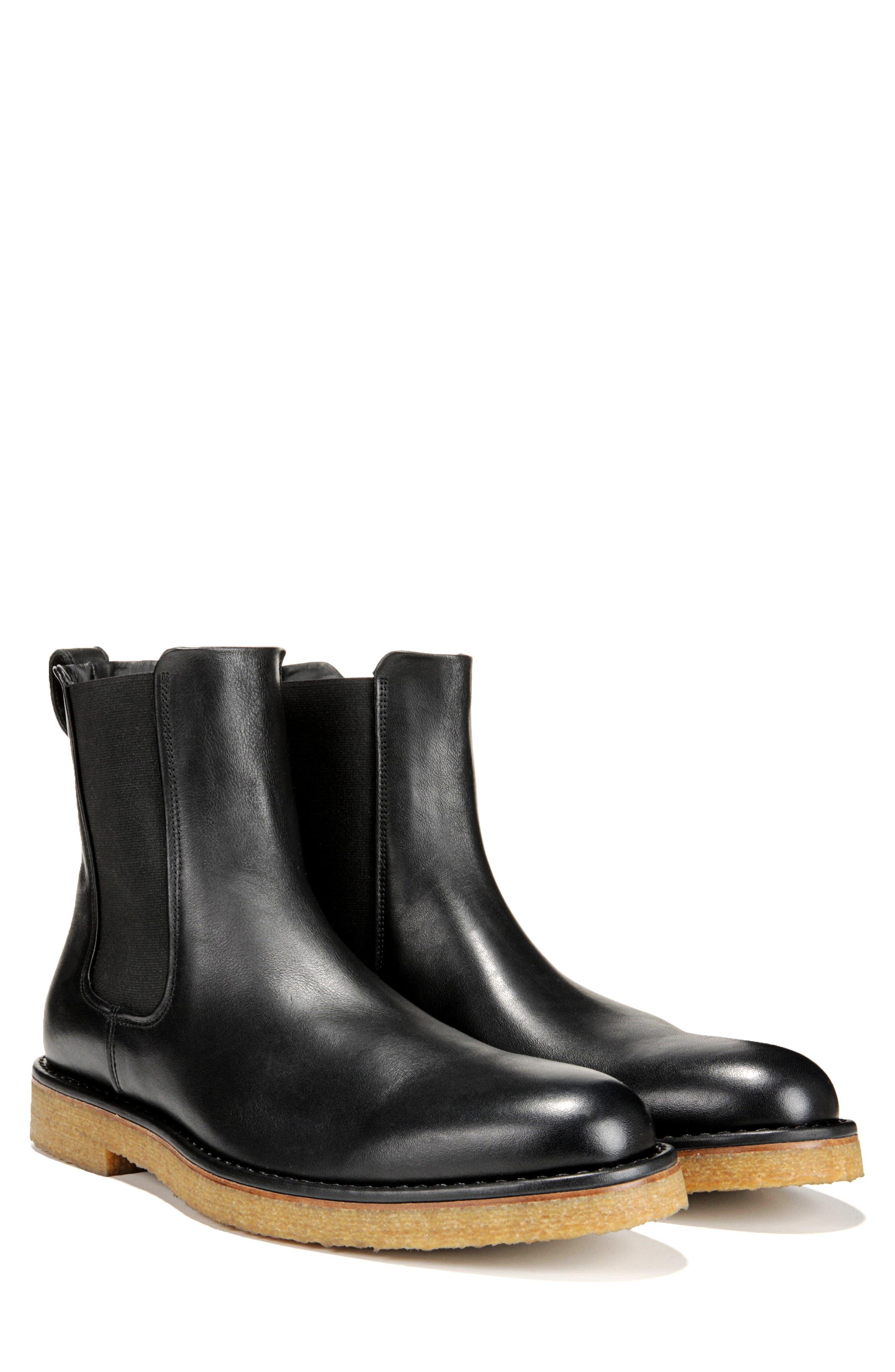 Cresslor Chelsea Boot,                             Alternate thumbnail 7, color,                             BLACK