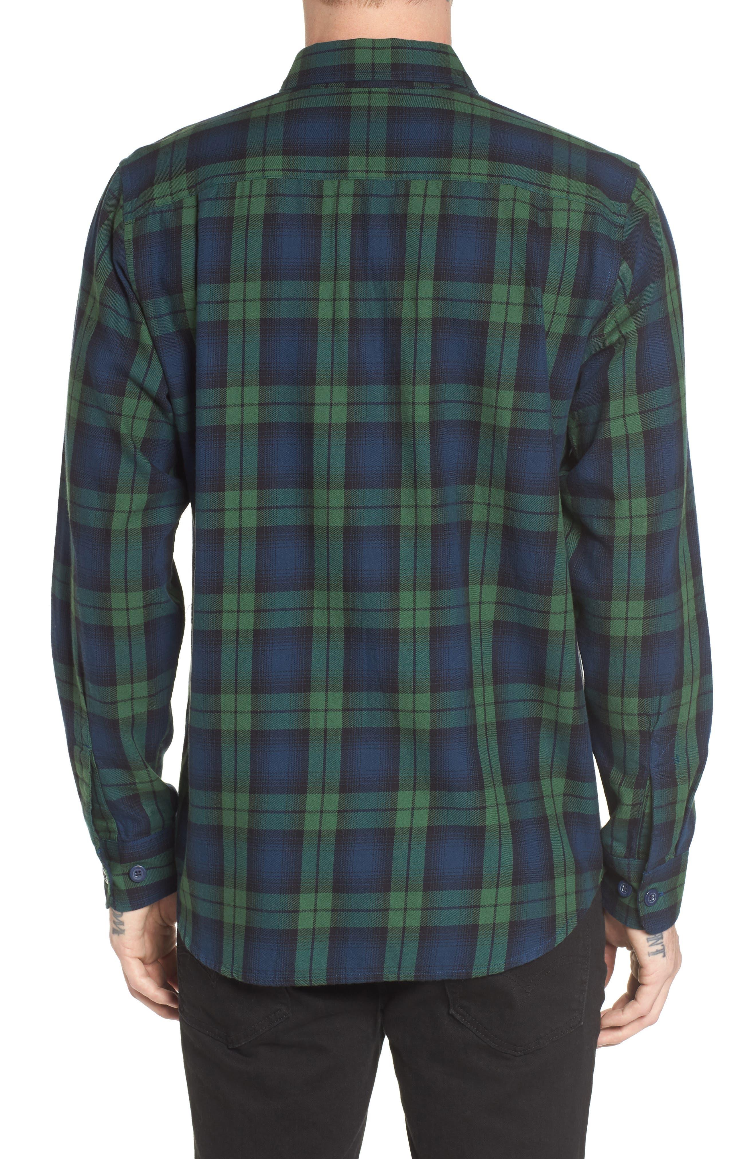 Norwich Plaid Woven Shirt,                             Alternate thumbnail 2, color,                             303