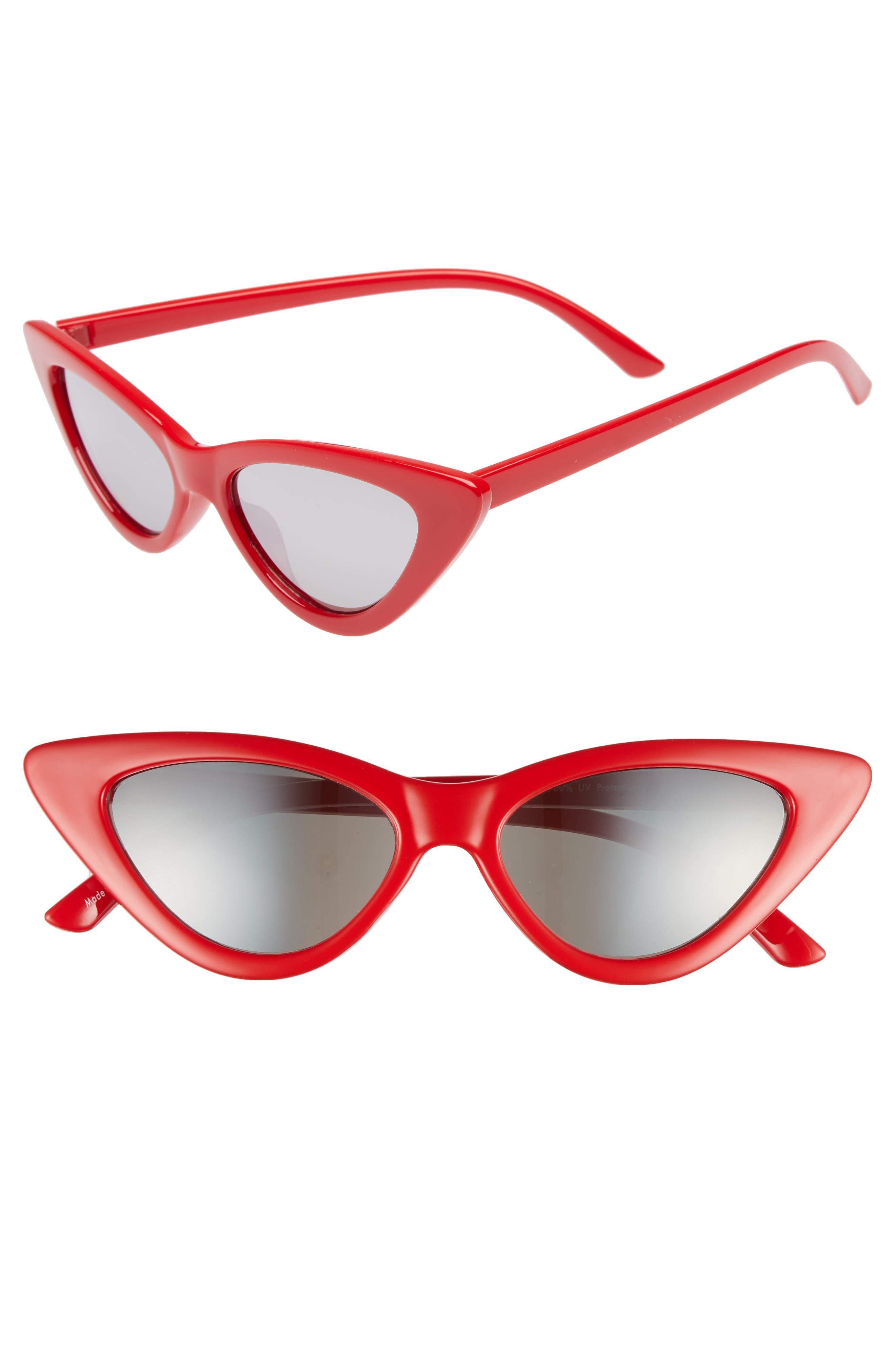 62mm Cat Eye Sunglasses,                             Main thumbnail 2, color,