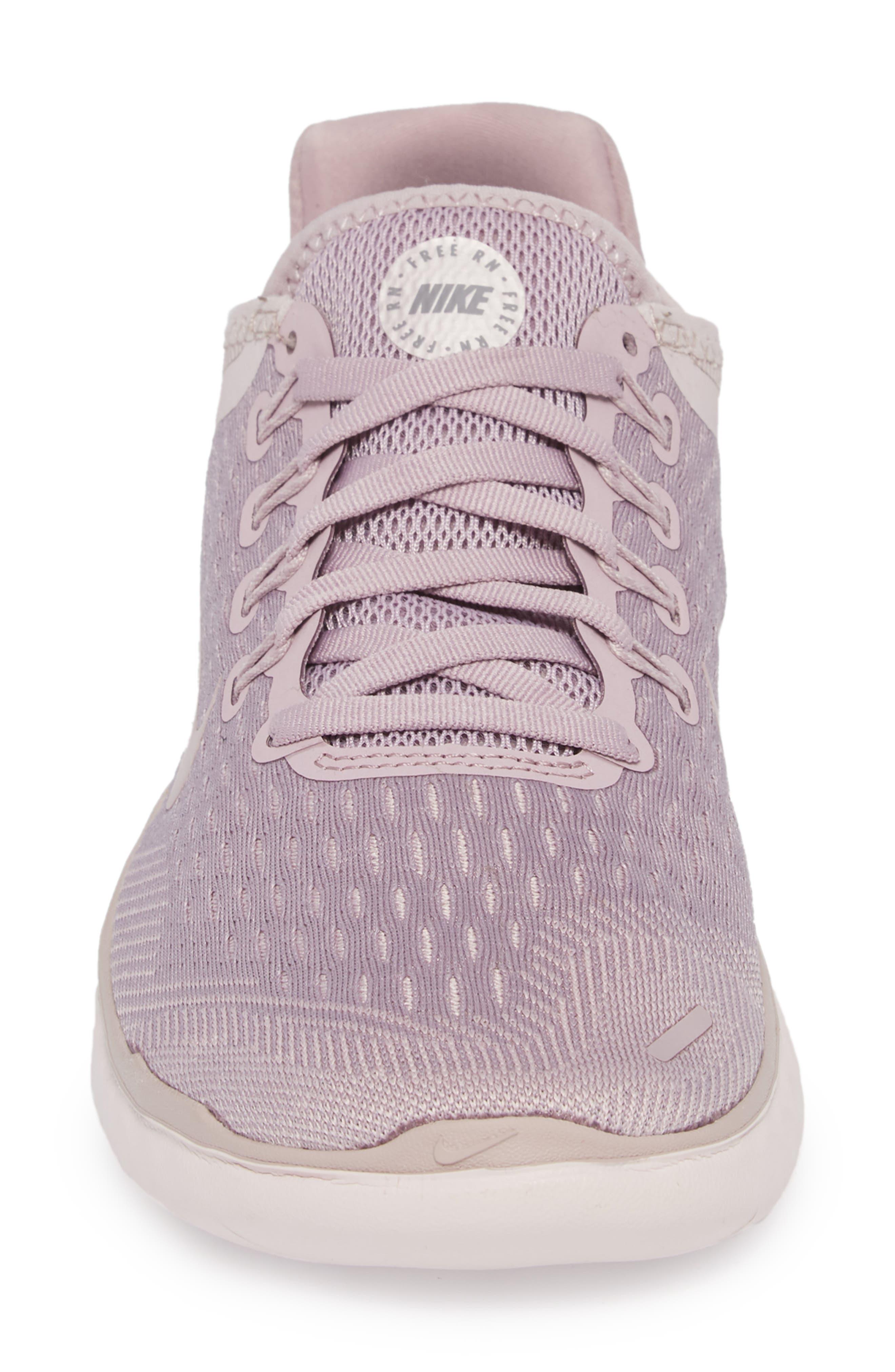 Free RN 2018 Running Shoe,                             Alternate thumbnail 4, color,                             ELEMENTAL ROSE/ GUNSMOKE
