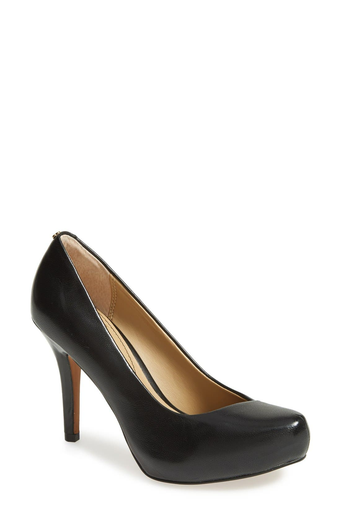 'Cagney' Platform Pump,                         Main,                         color, 001