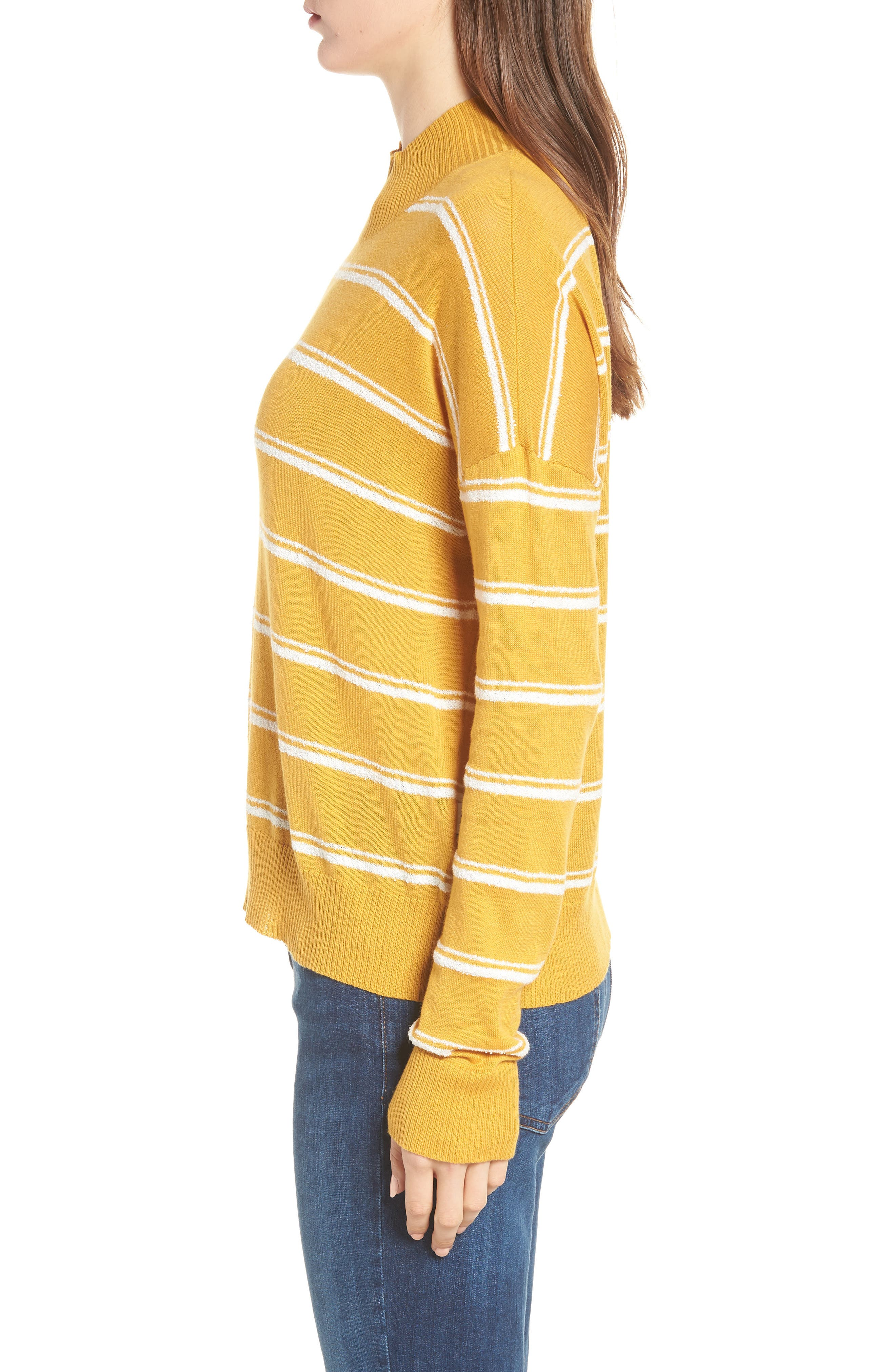 Armed Stripe Sweater,                             Alternate thumbnail 3, color,                             779