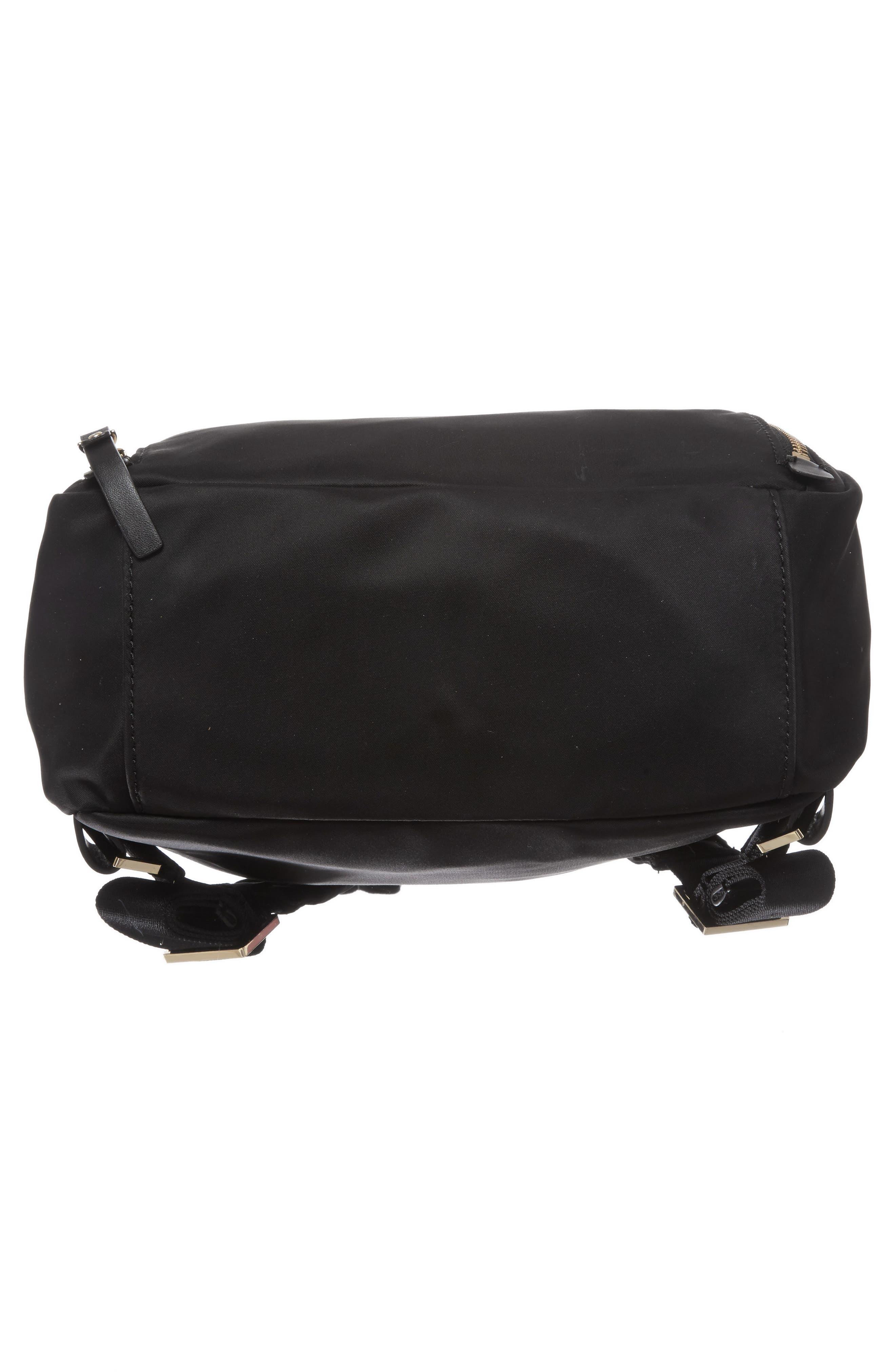 watson lane - hartley nylon backpack,                             Alternate thumbnail 6, color,                             BLACK