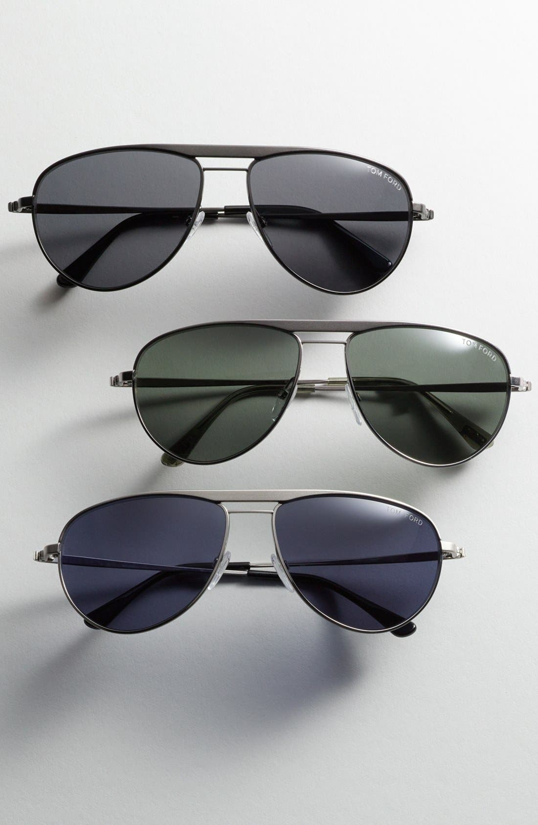 TOM FORD,                             'William' 59mm Polarized Sunglasses,                             Alternate thumbnail 2, color,                             040