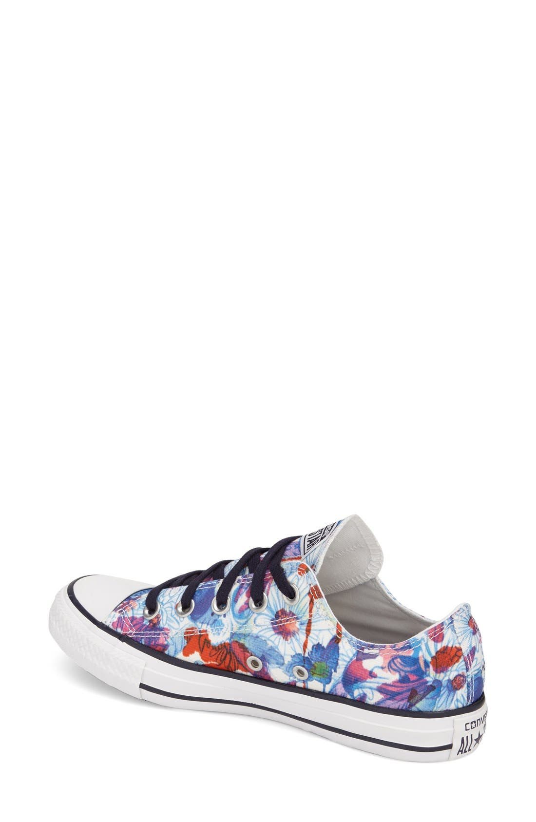 Chuck Taylor<sup>®</sup> All Star<sup>®</sup> 'Daisy Print Ox' Low Top Sneaker,                             Alternate thumbnail 2, color,                             400