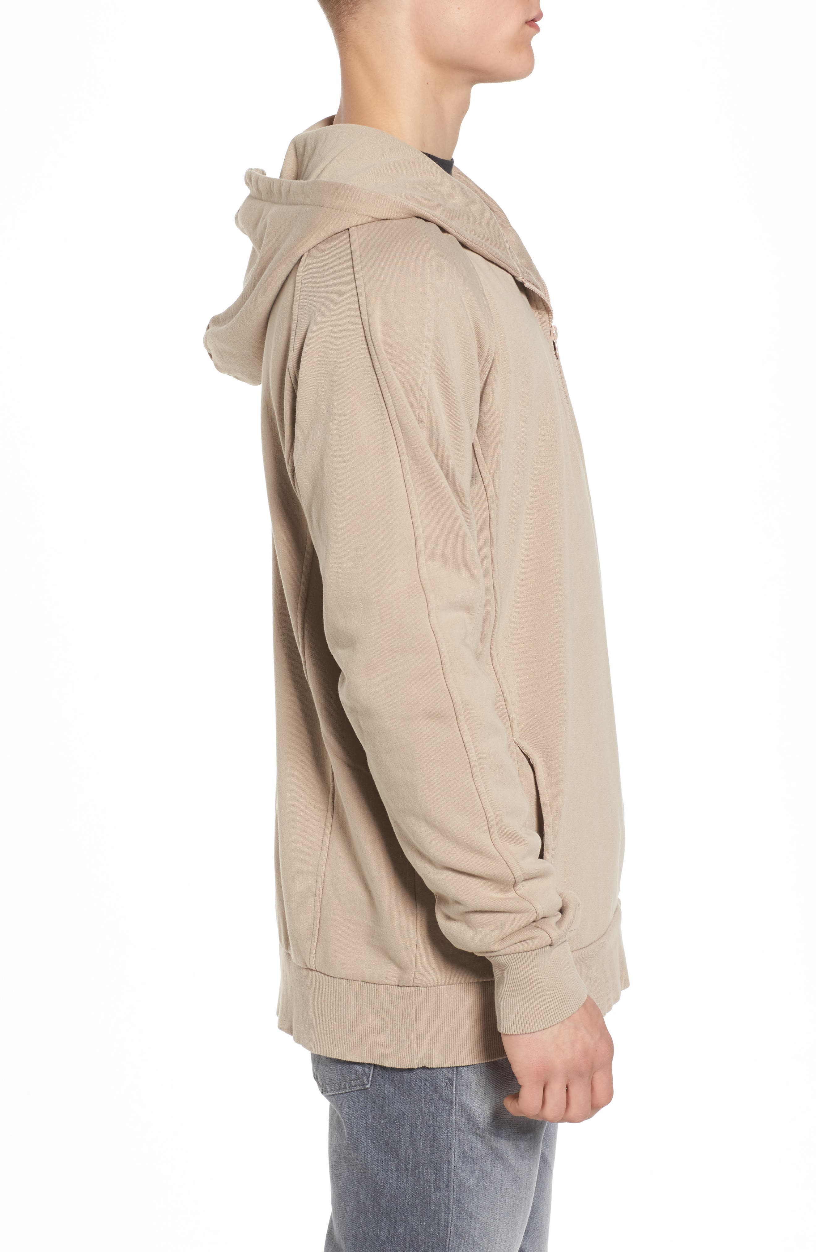 Olympic Zip Pullover Hoodie,                             Alternate thumbnail 3, color,                             260