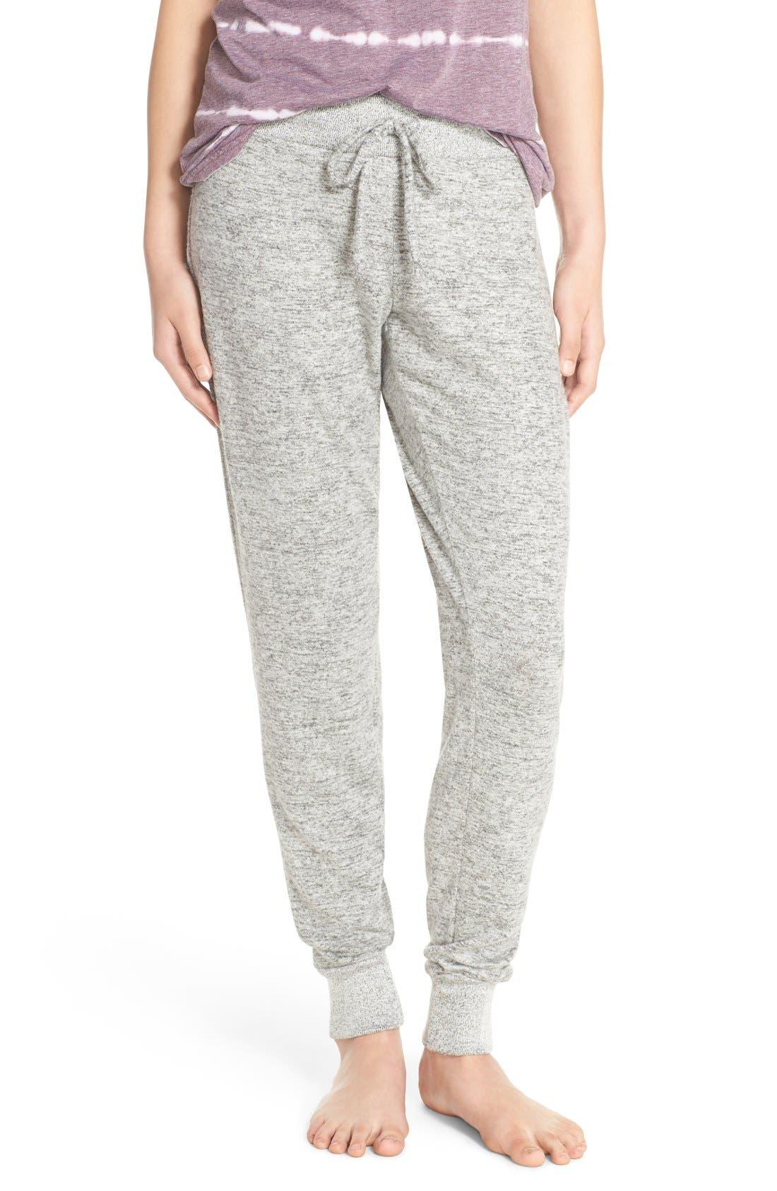 Brushed Hacci Jogger Pants,                         Main,                         color,