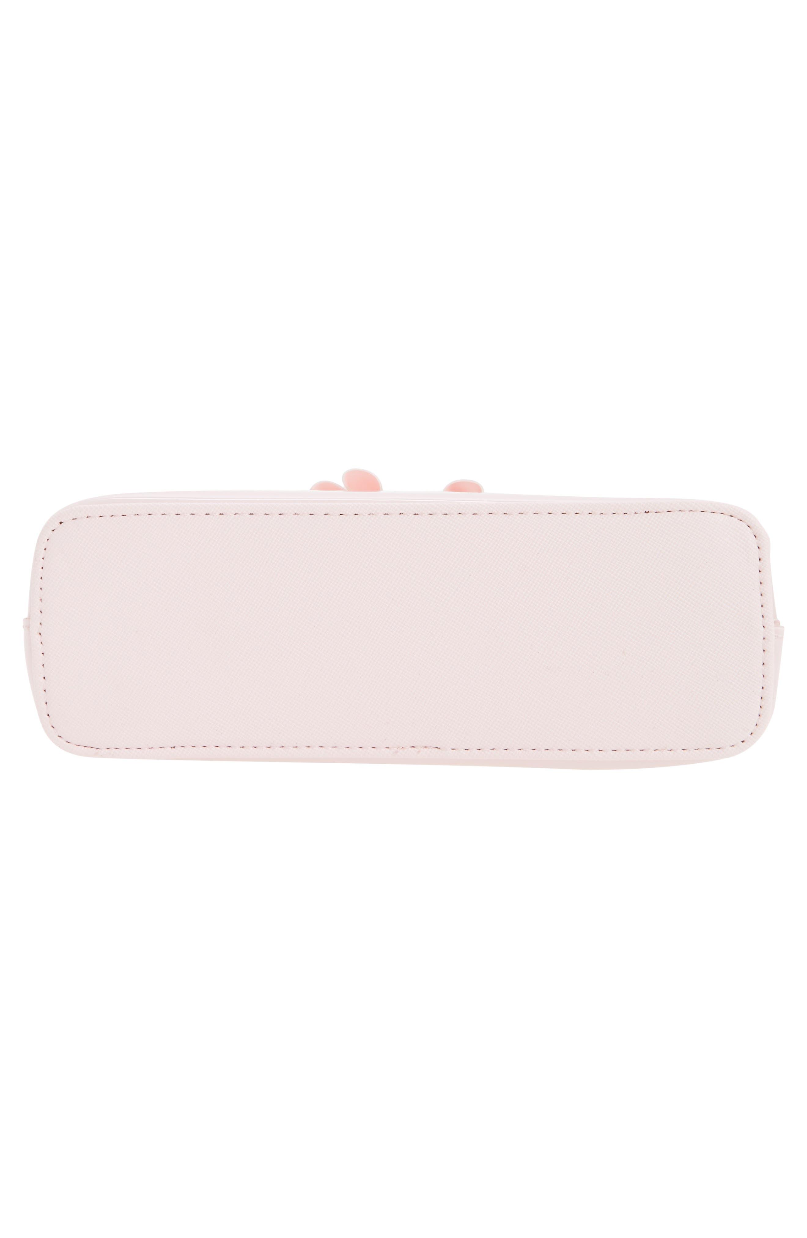 Julis Bow PVC Cosmetics Case,                             Alternate thumbnail 5, color,                             652