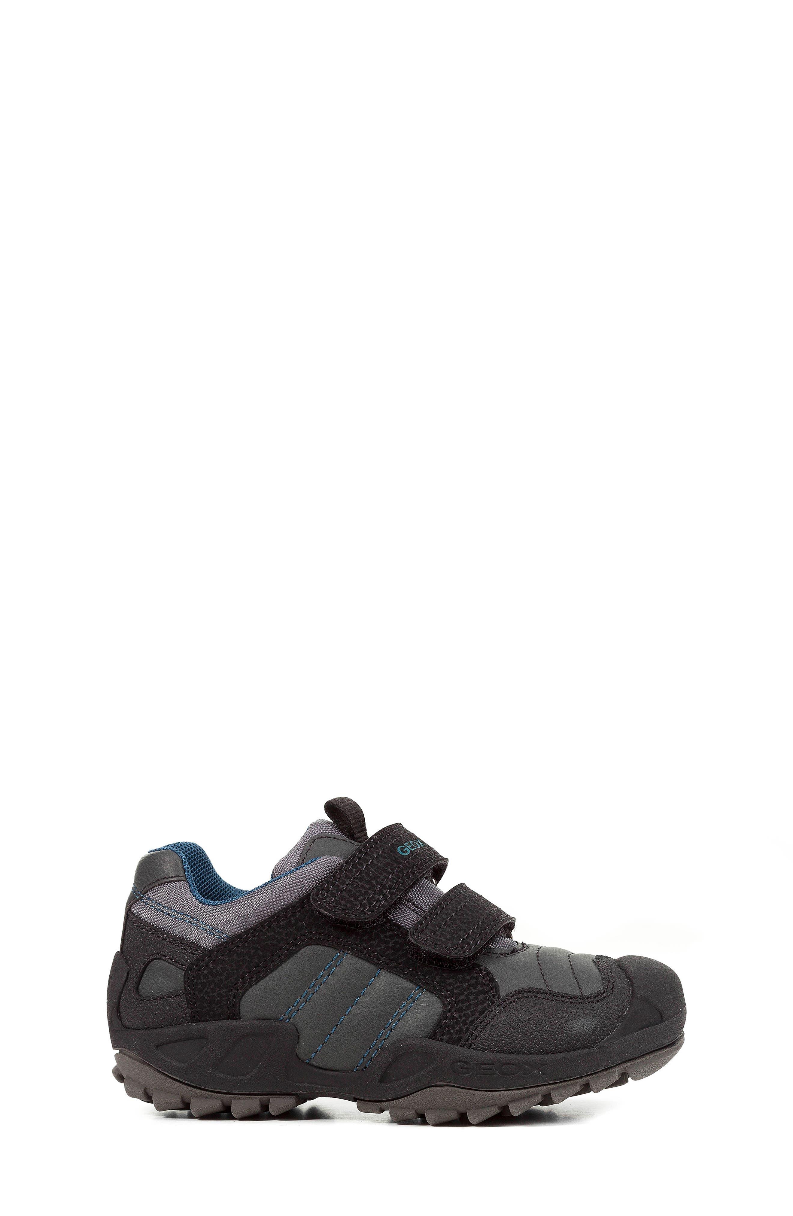 New Savage Sneaker,                             Alternate thumbnail 3, color,                             DARK GREY/PETROL
