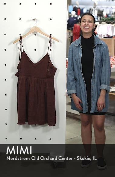 Endless Summer by Free People Sun Drenched Minidress, sales video thumbnail