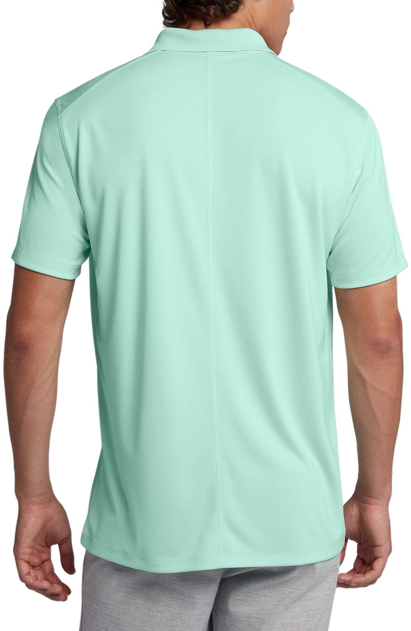 Dry Victory Golf Polo,                             Alternate thumbnail 2, color,                             IGLOO/ FLT SILVER