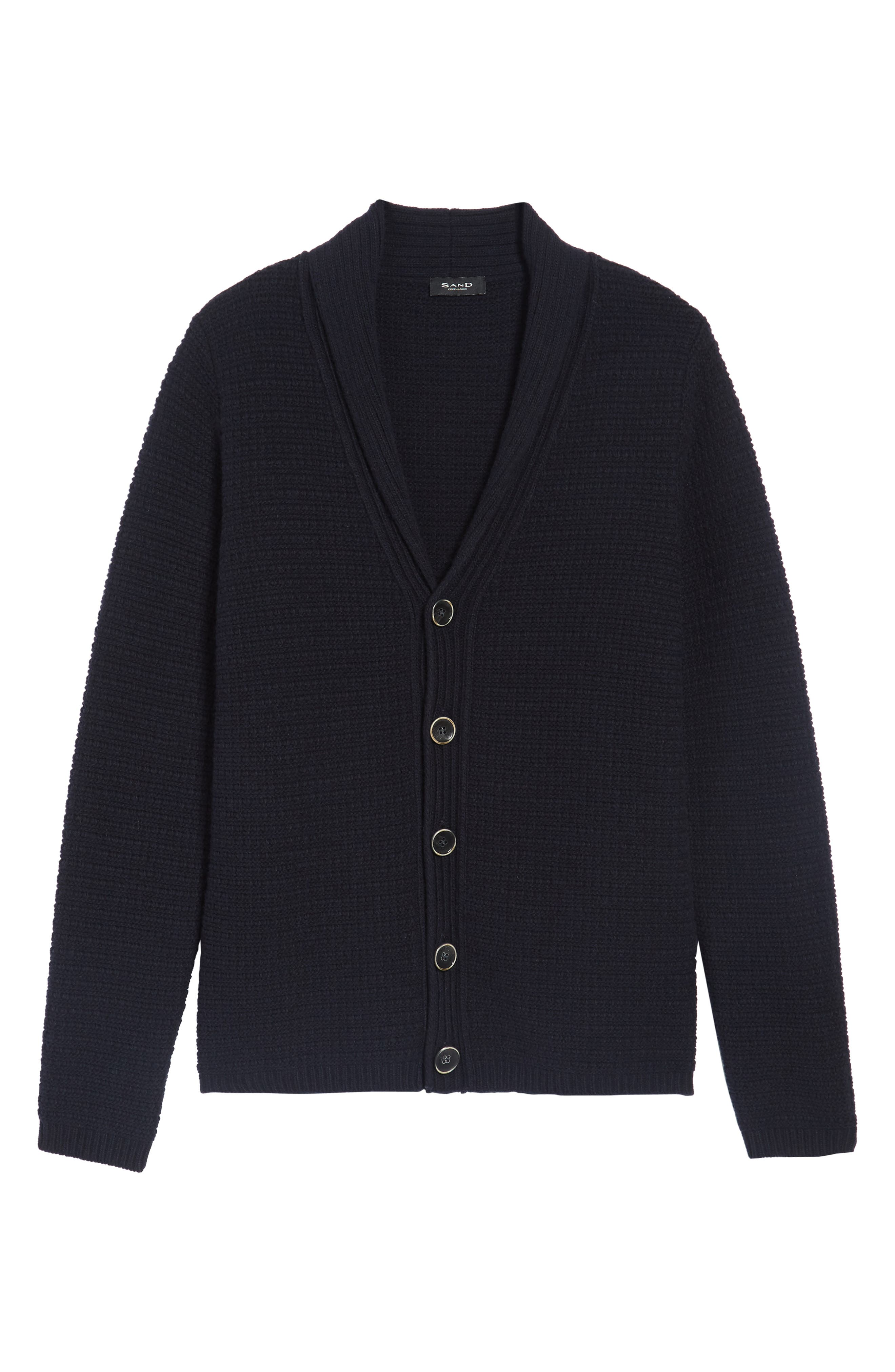 Shawl Collar Button Cardigan,                             Alternate thumbnail 6, color,