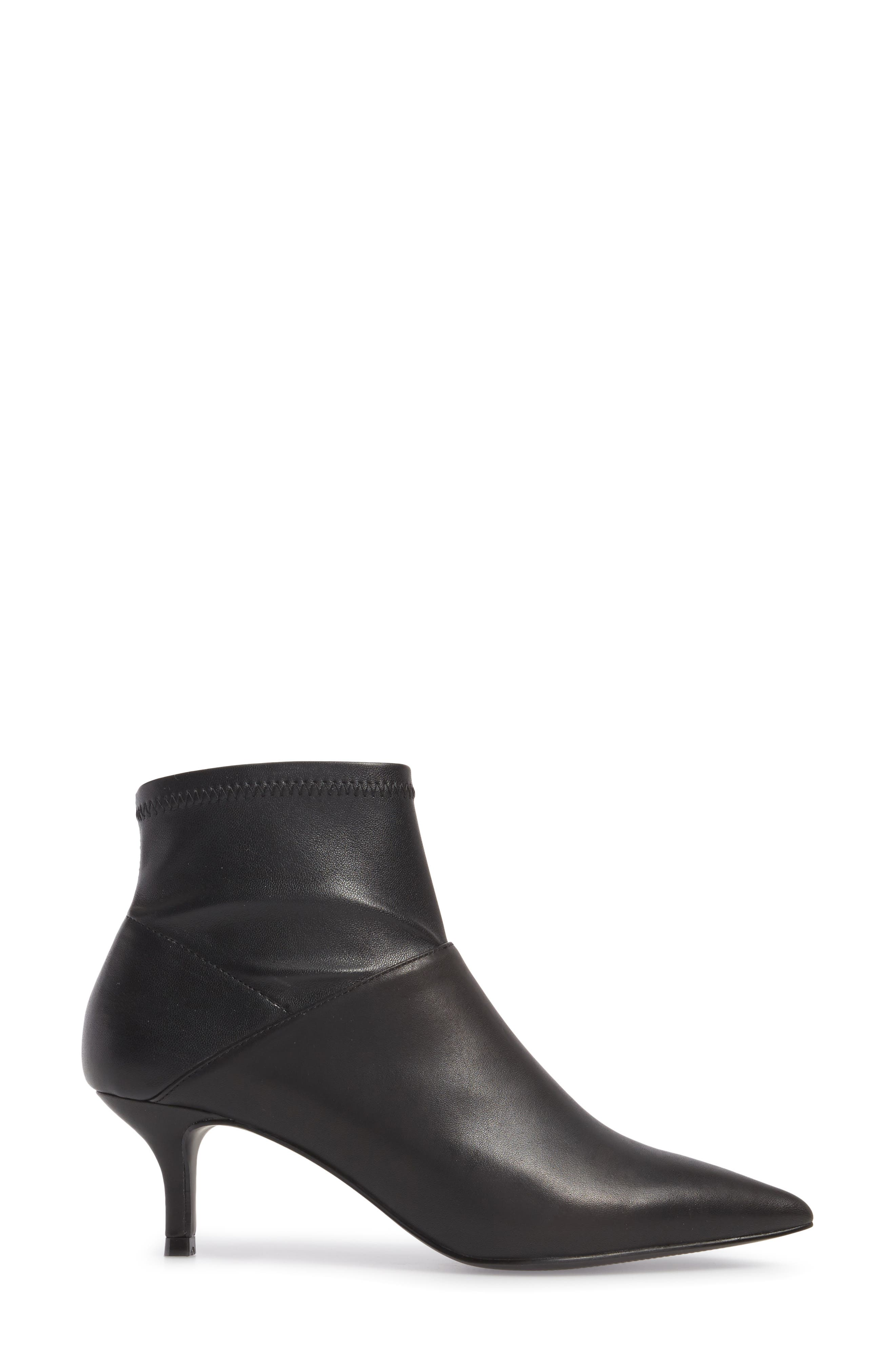 Vida Pointy Toe Bootie,                             Alternate thumbnail 5, color,
