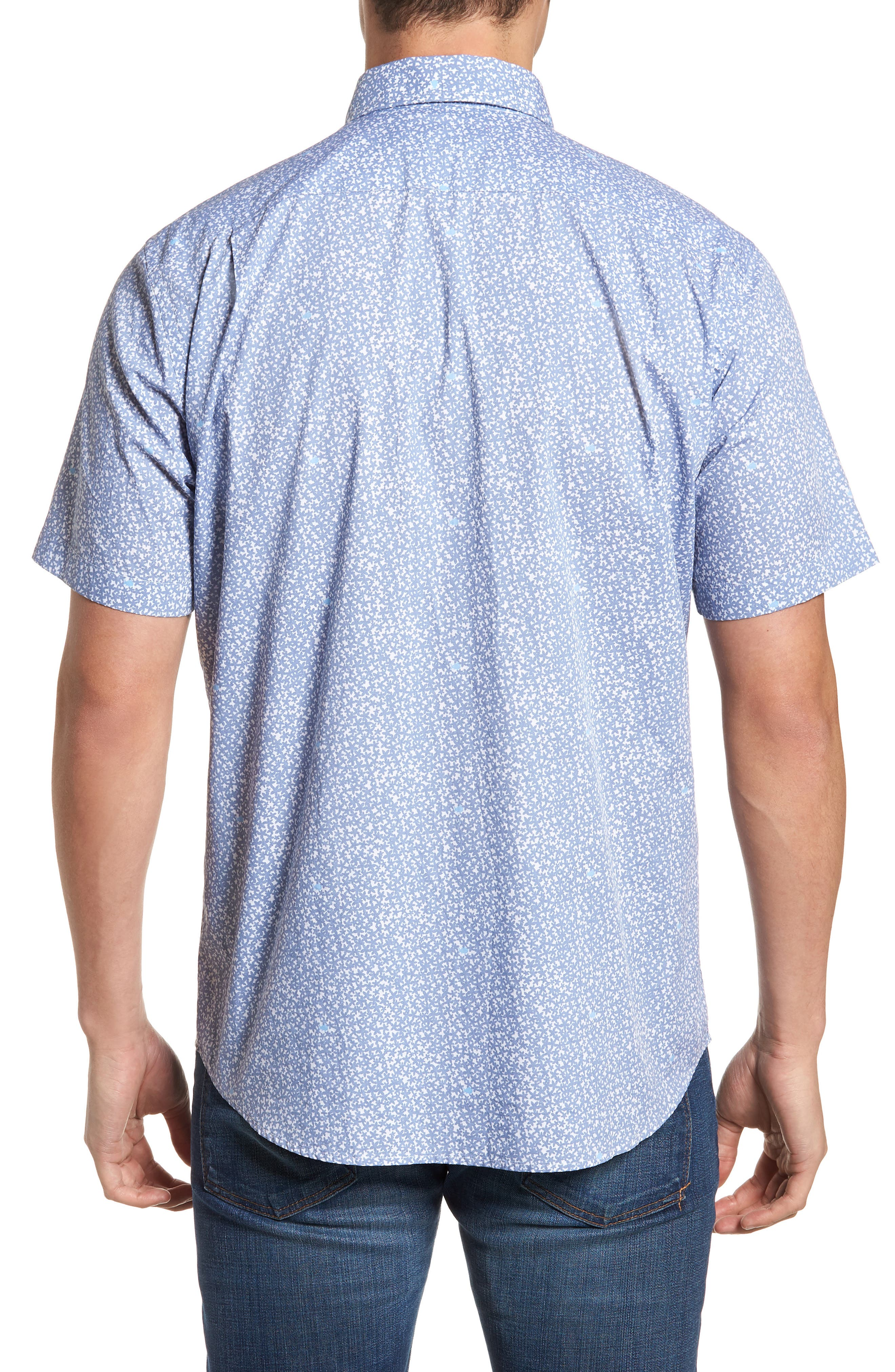 Dover Beach Regular Fit Print Sport Shirt,                             Alternate thumbnail 2, color,                             020