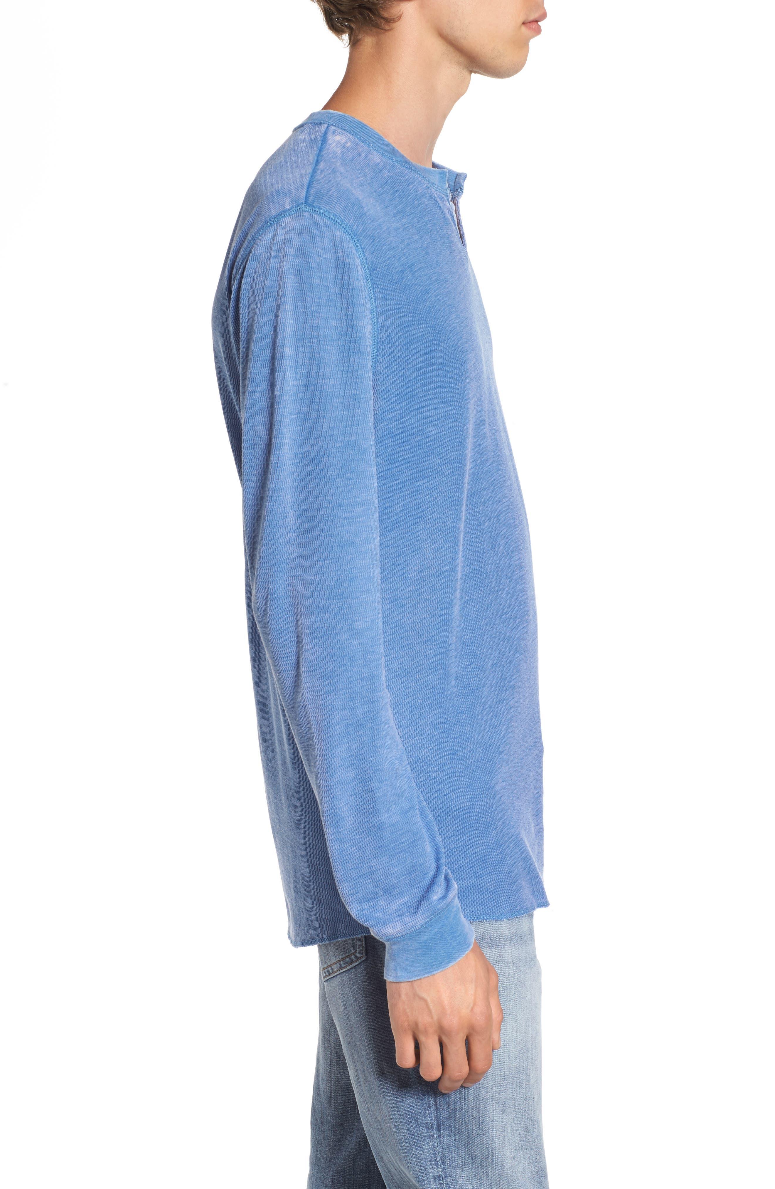 Notch Neck Thermal T-Shirt,                             Alternate thumbnail 18, color,