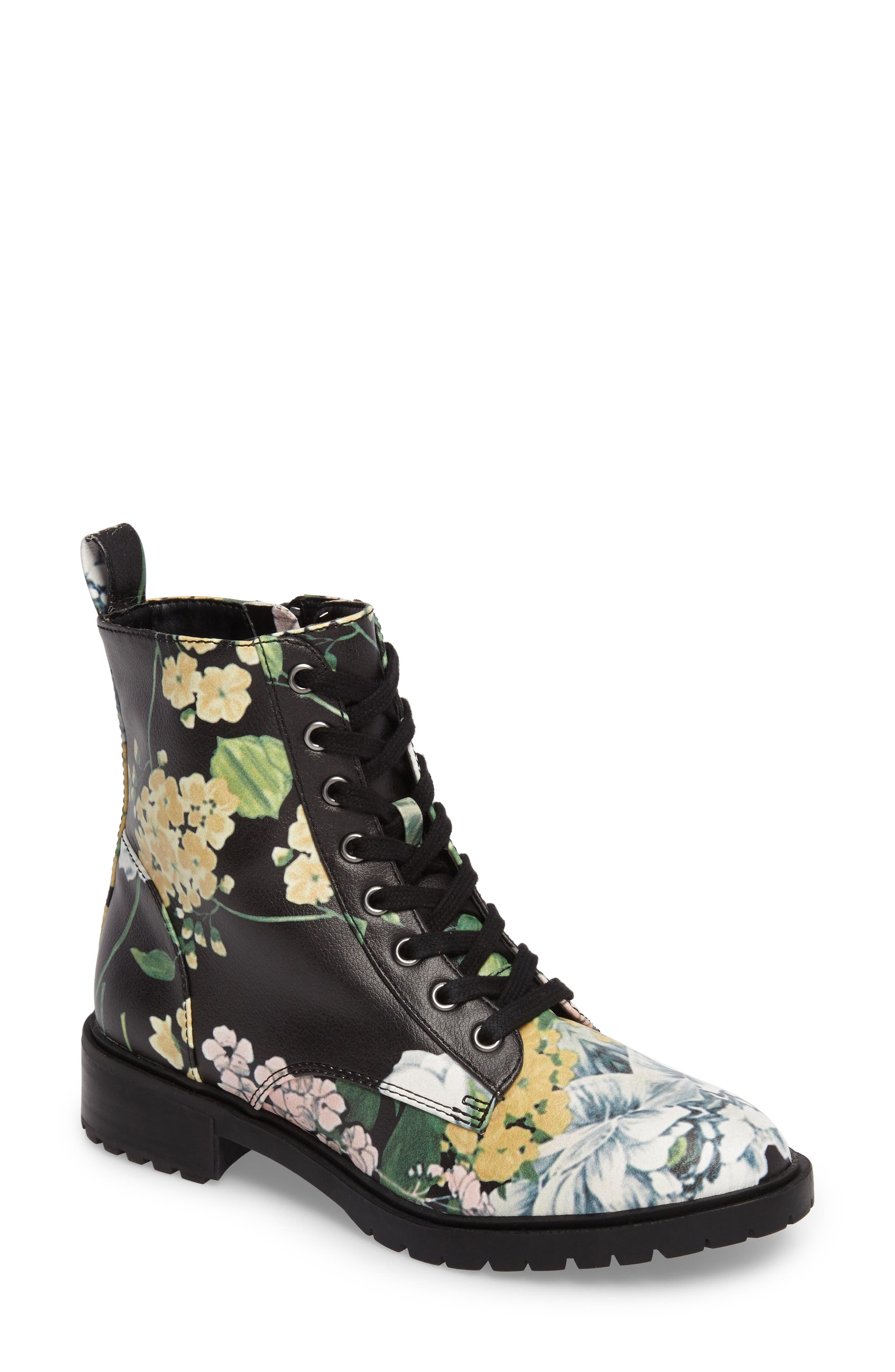 Officer Combat Boot,                             Main thumbnail 2, color,