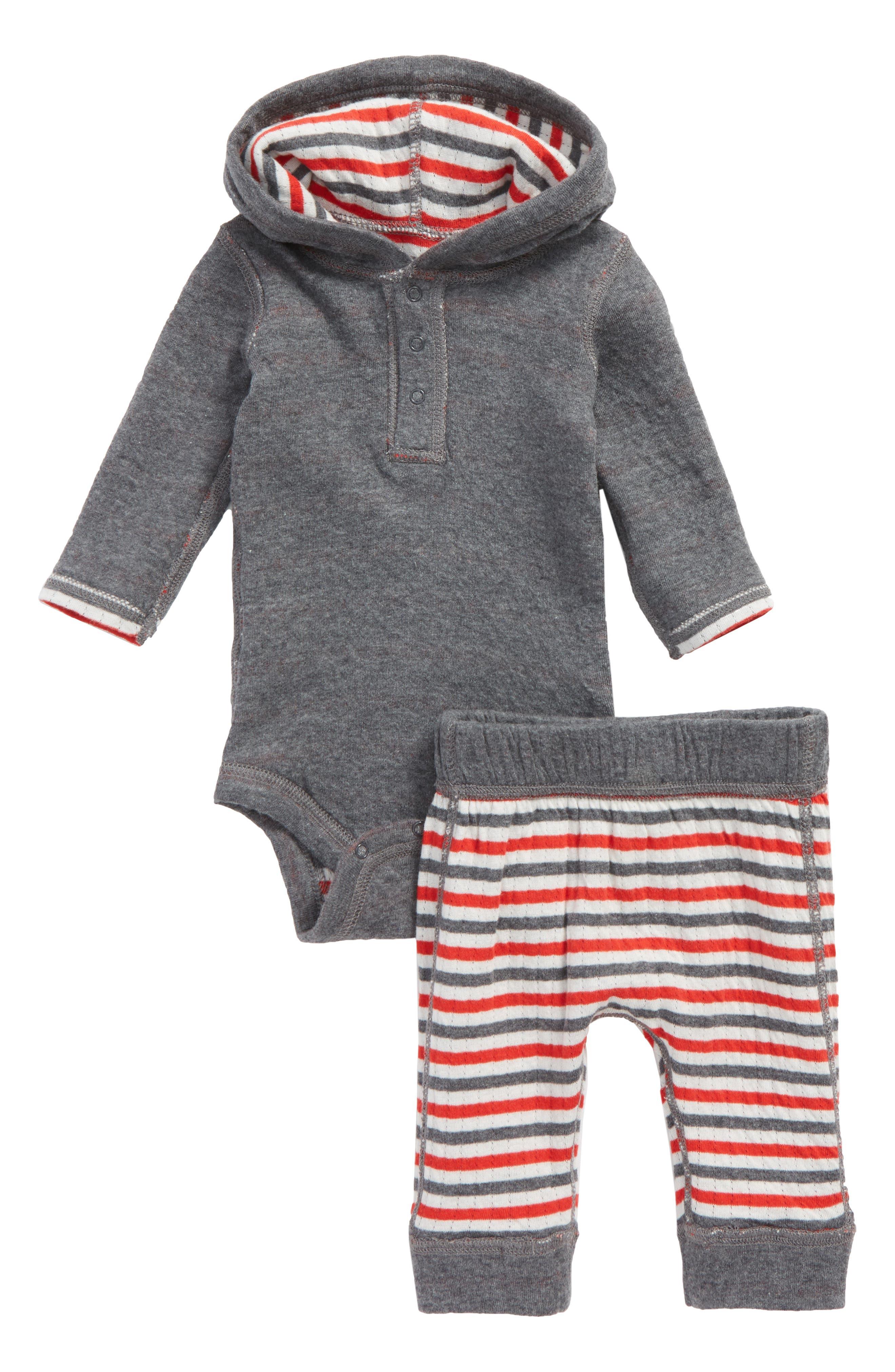 Reversible Hooded Bodysuit & Leggings Set,                             Alternate thumbnail 2, color,                             030