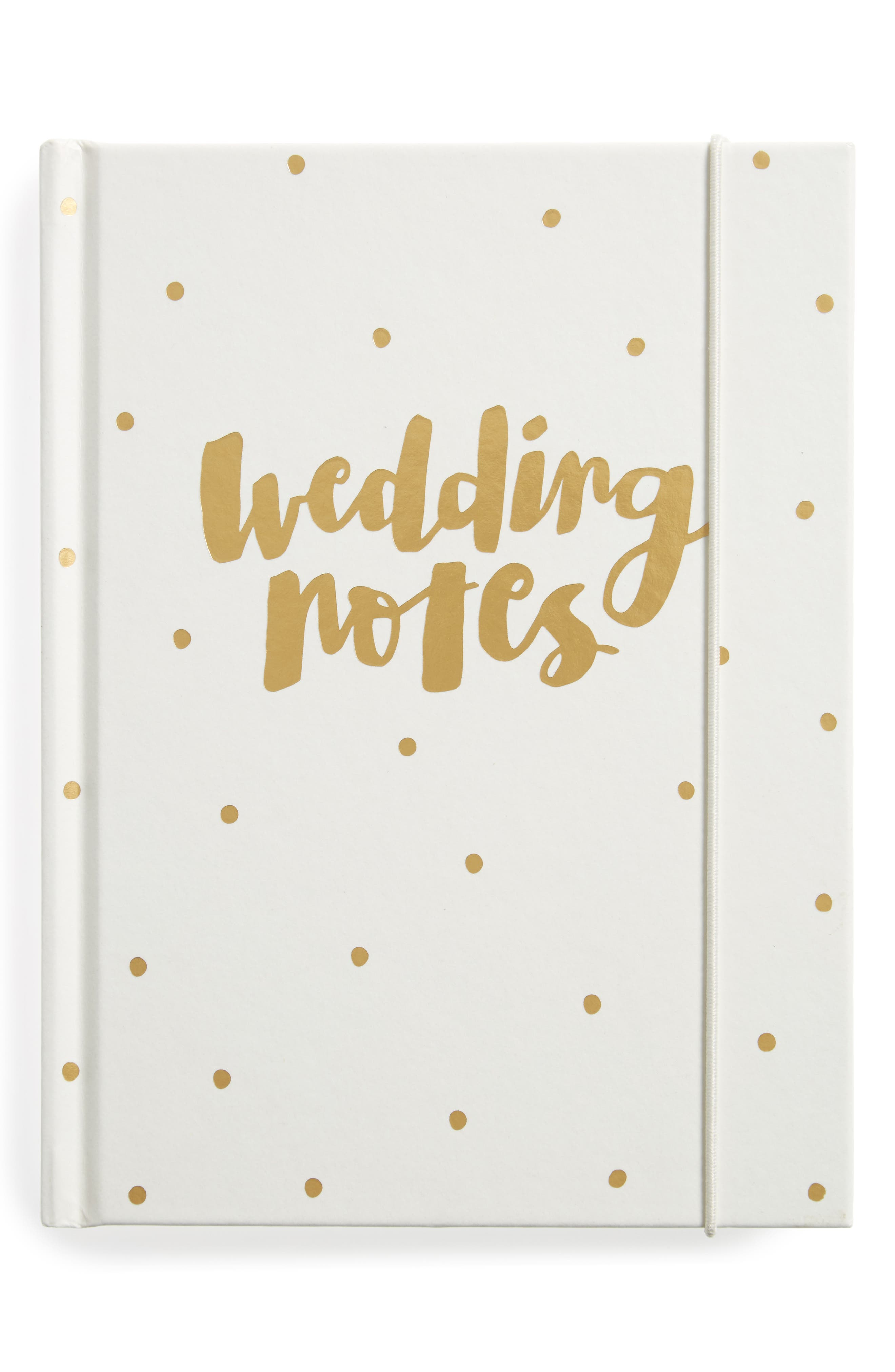 Wedding Notes: Always & Forever Planner,                             Main thumbnail 1, color,                             GOLD