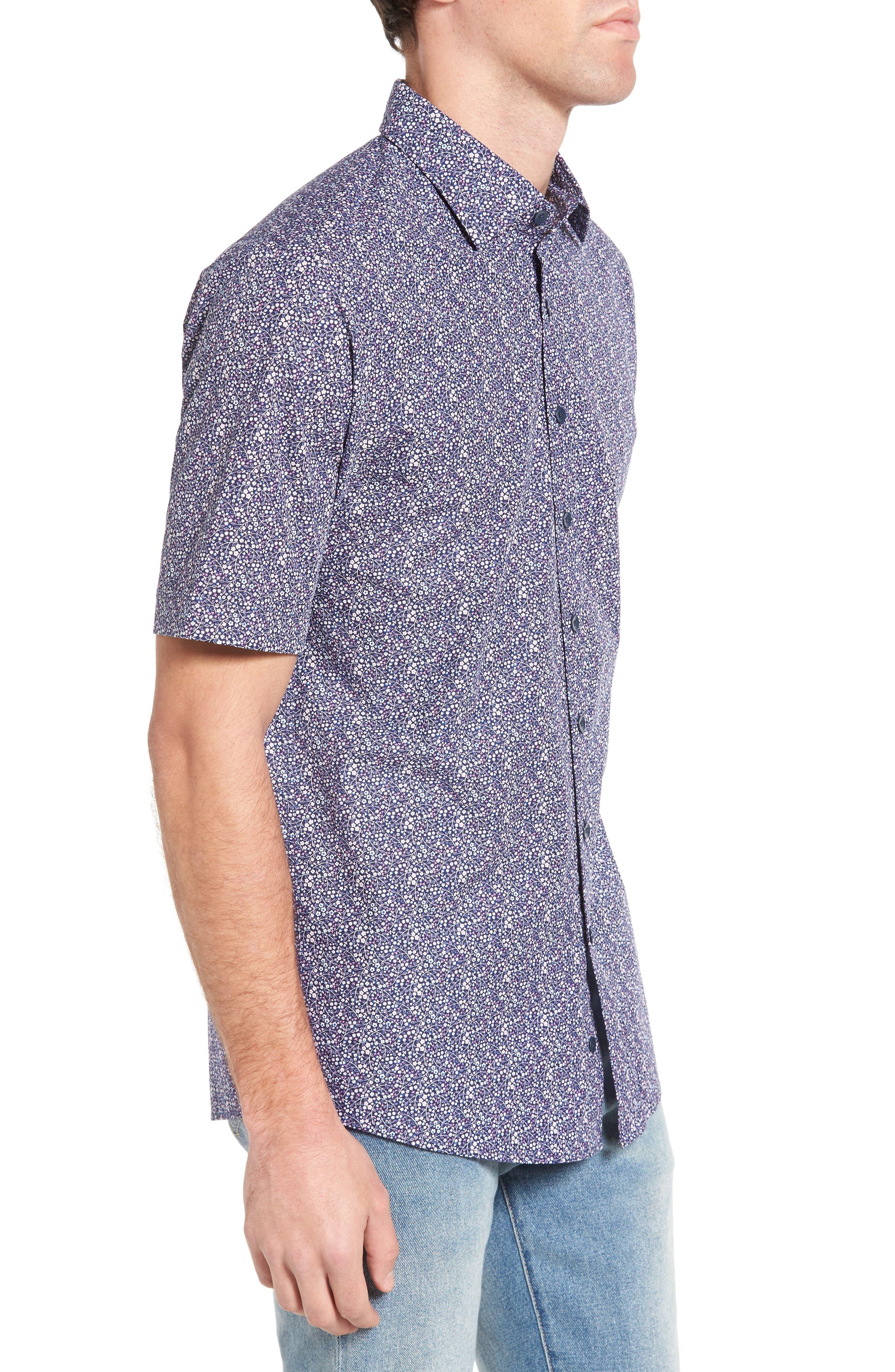 Lorneville Original Fit Sport Shirt,                             Alternate thumbnail 3, color,                             423