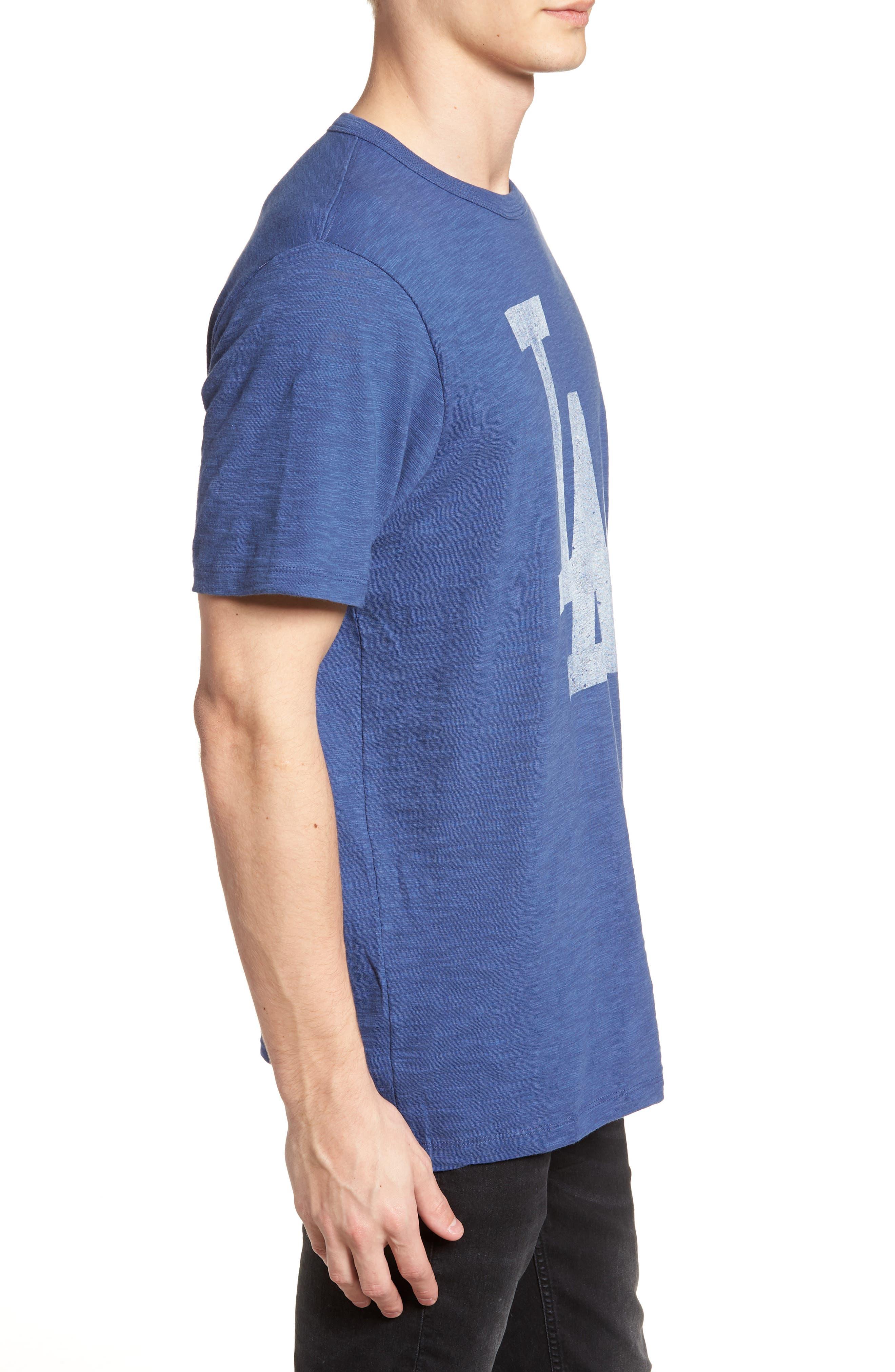'47,                             Grit Scrum Los Angeles Dodgers T-Shirt,                             Alternate thumbnail 3, color,                             400