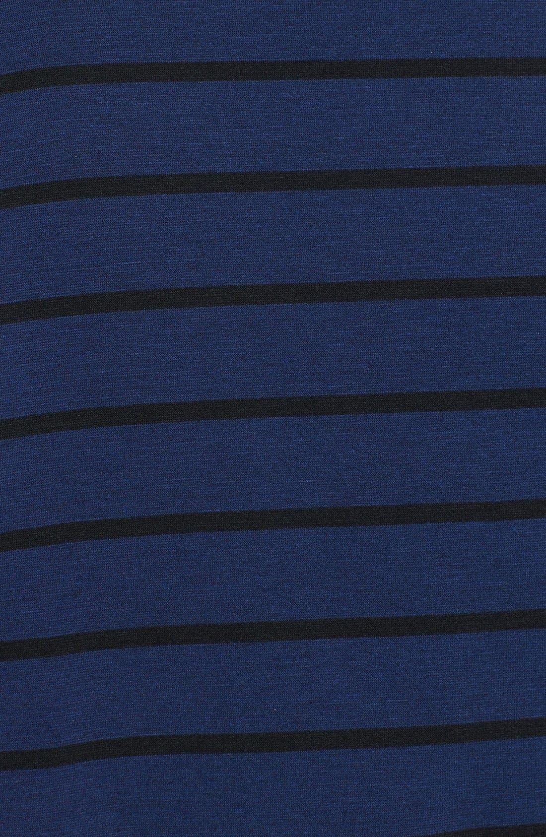Stripe Fleece Wrap,                             Alternate thumbnail 8, color,