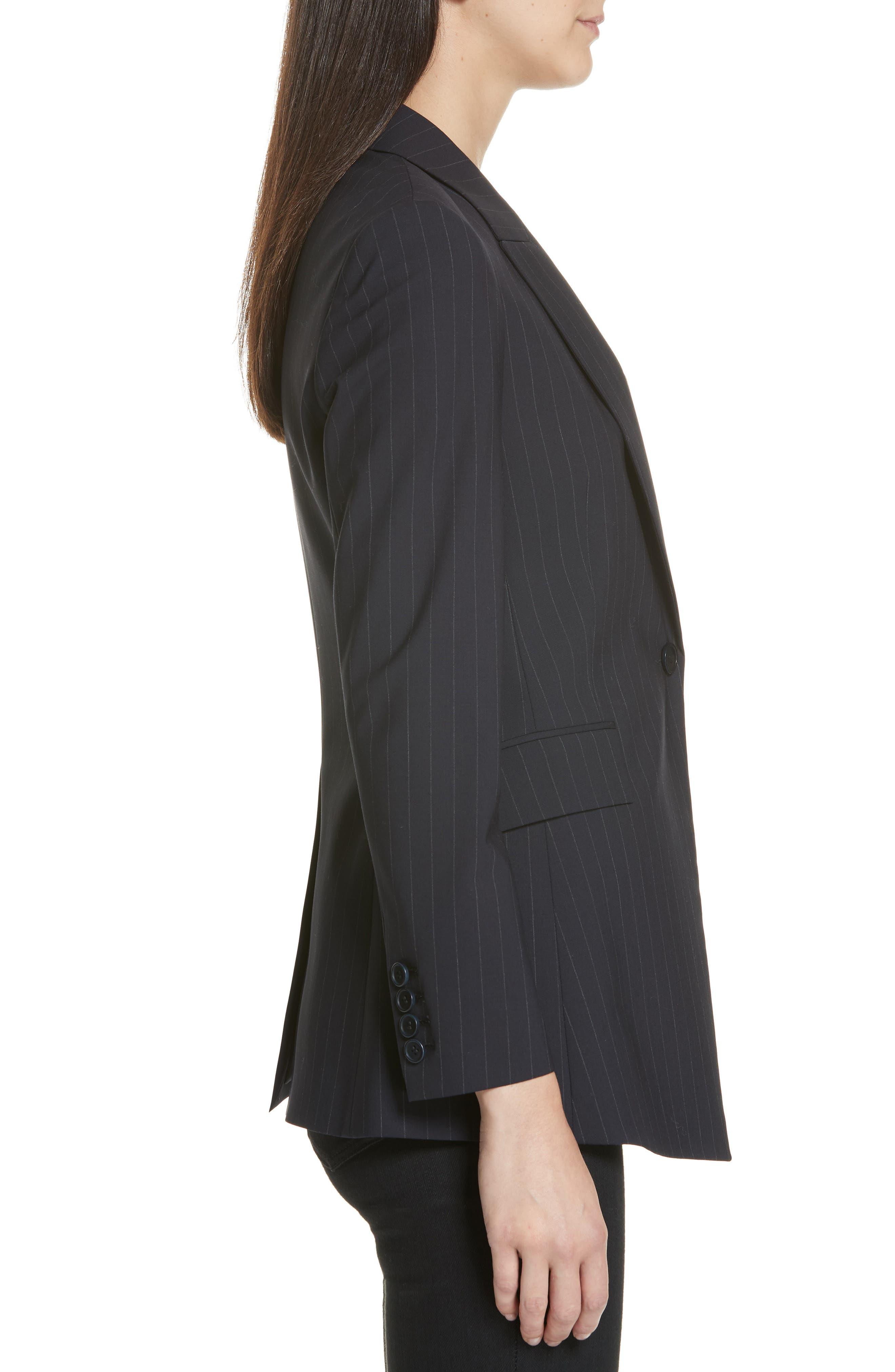 Etienette B Good Wool Suit Jacket,                             Alternate thumbnail 19, color,