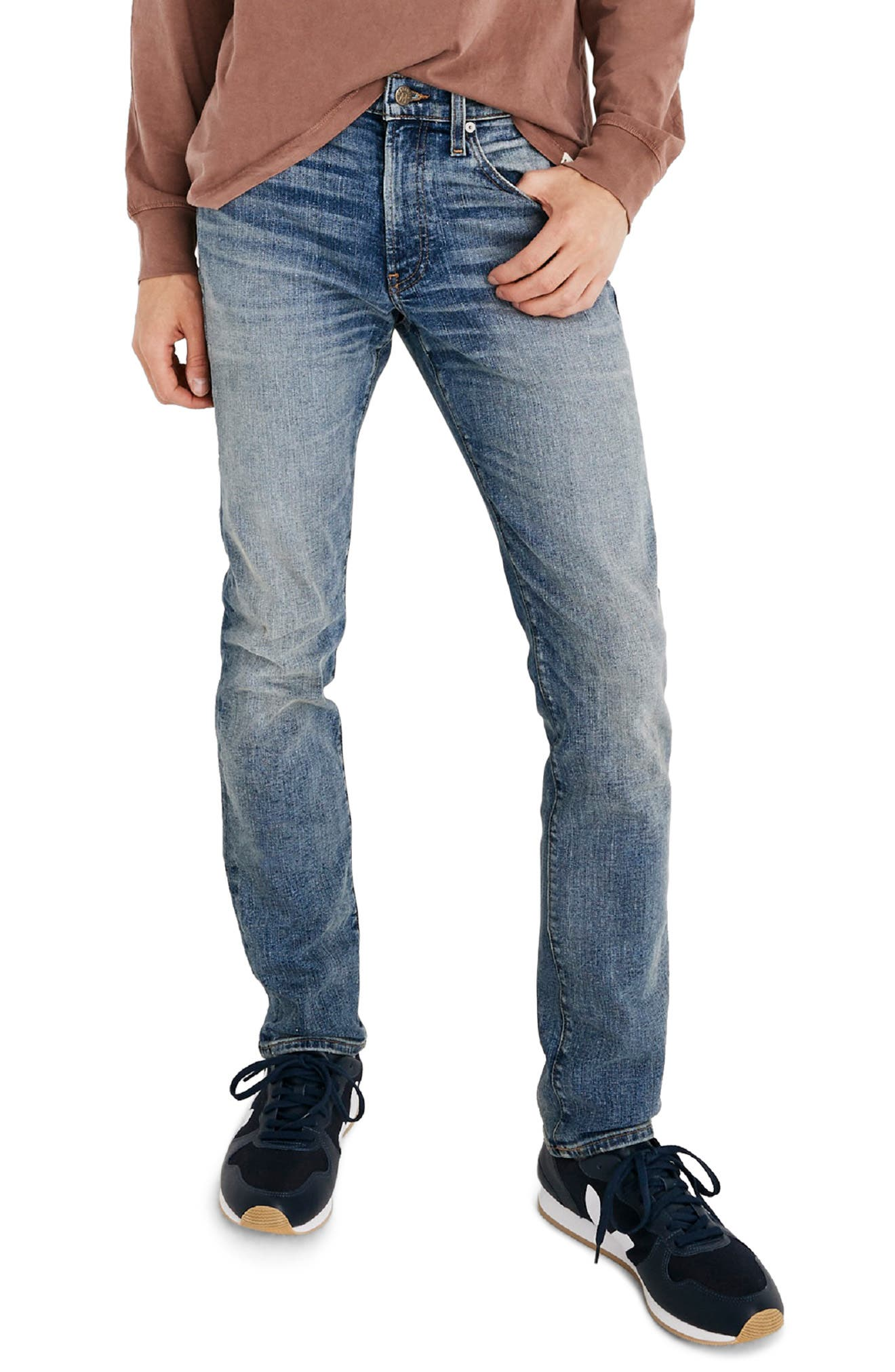 Slim Fit Jeans,                         Main,                         color, BAYWOOD WASH