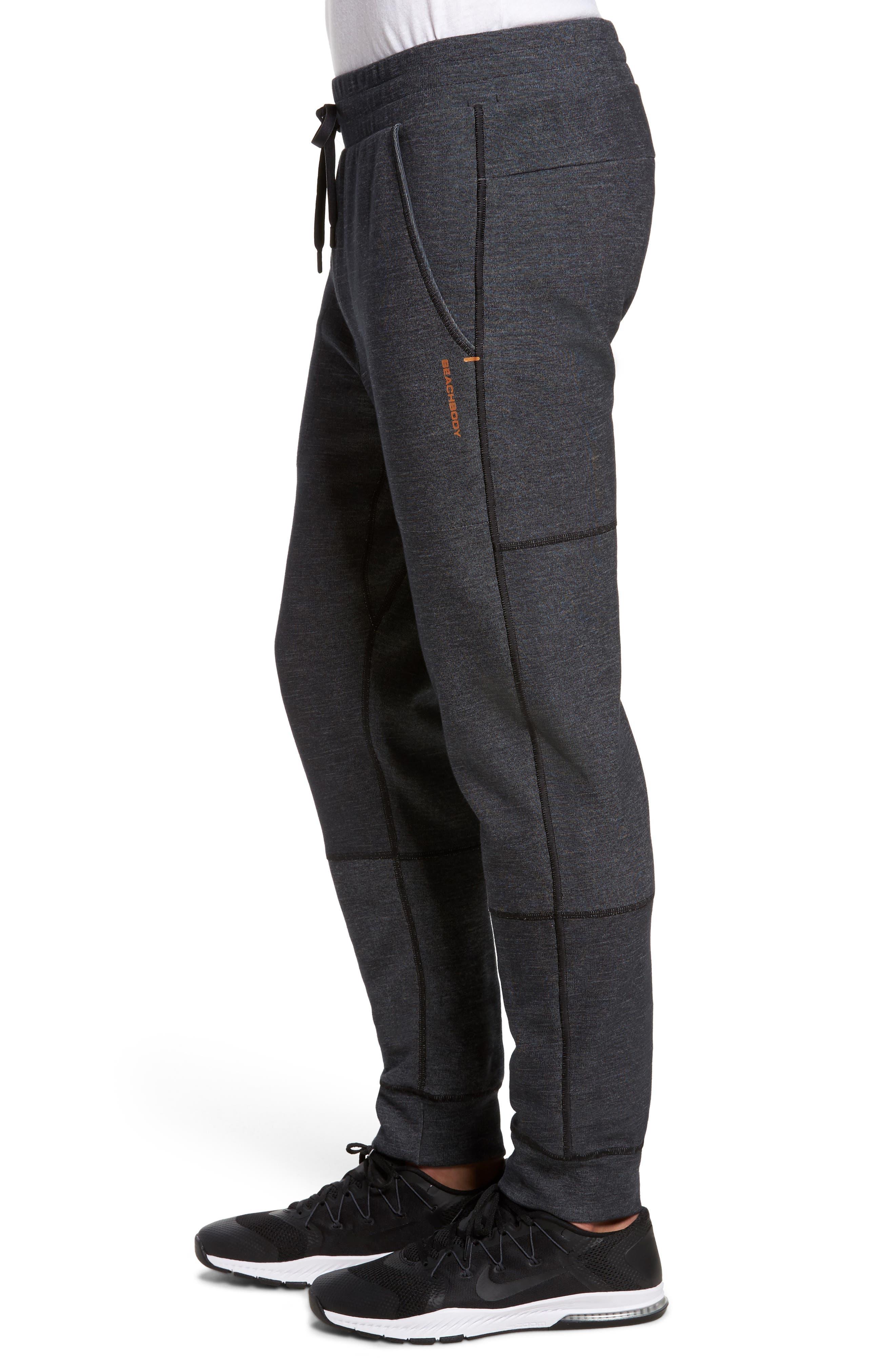 Slim Fit Fusion Jogger Pants,                             Alternate thumbnail 3, color,                             001