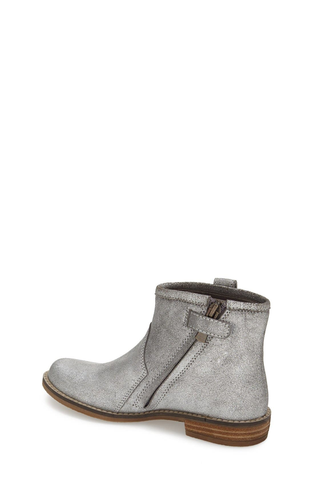 Peek 'Birch' Leather Ankle Boot,                             Alternate thumbnail 2, color,                             040
