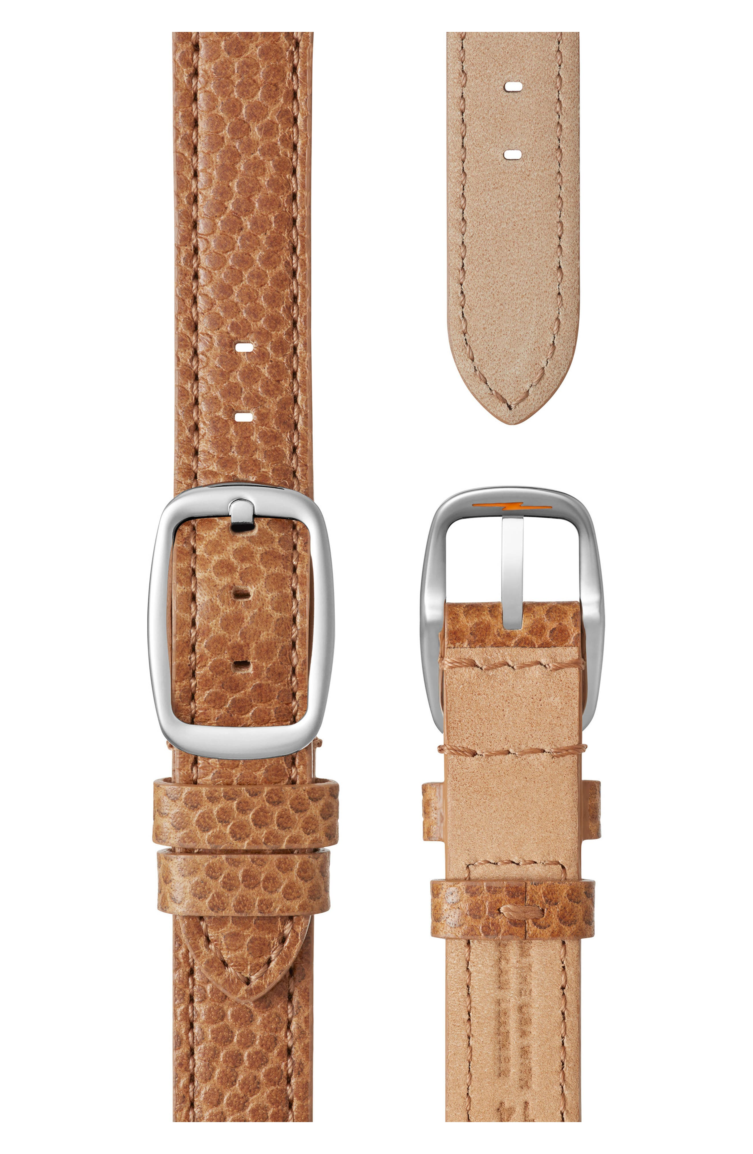 The Canfield Alligator Strap Watch, 38mm,                             Alternate thumbnail 38, color,