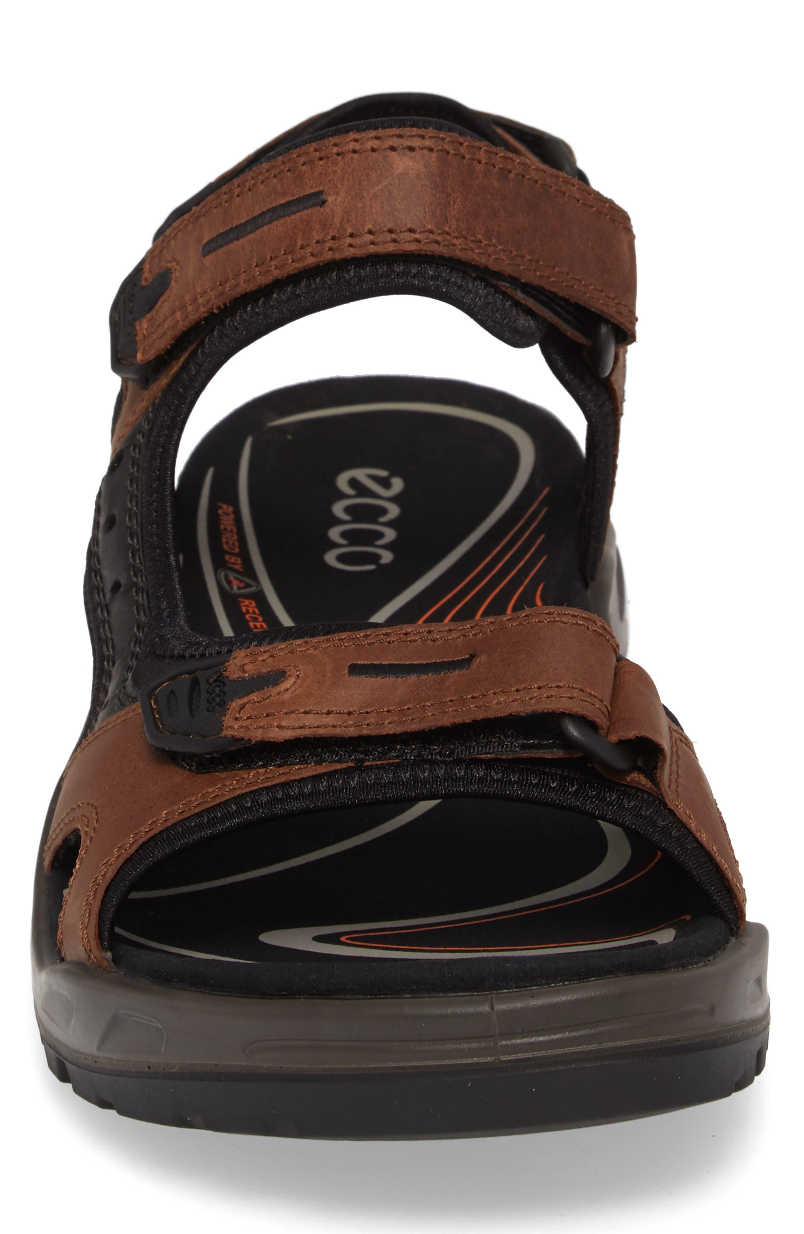 'Yucatan' Sandal,                             Alternate thumbnail 5, color,                             BROWN/BLACK