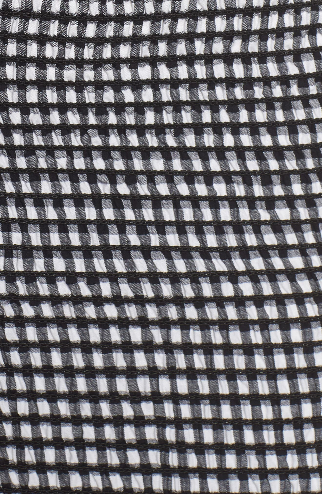 Scafati Off the Shoulder Minidress,                             Alternate thumbnail 5, color,                             001