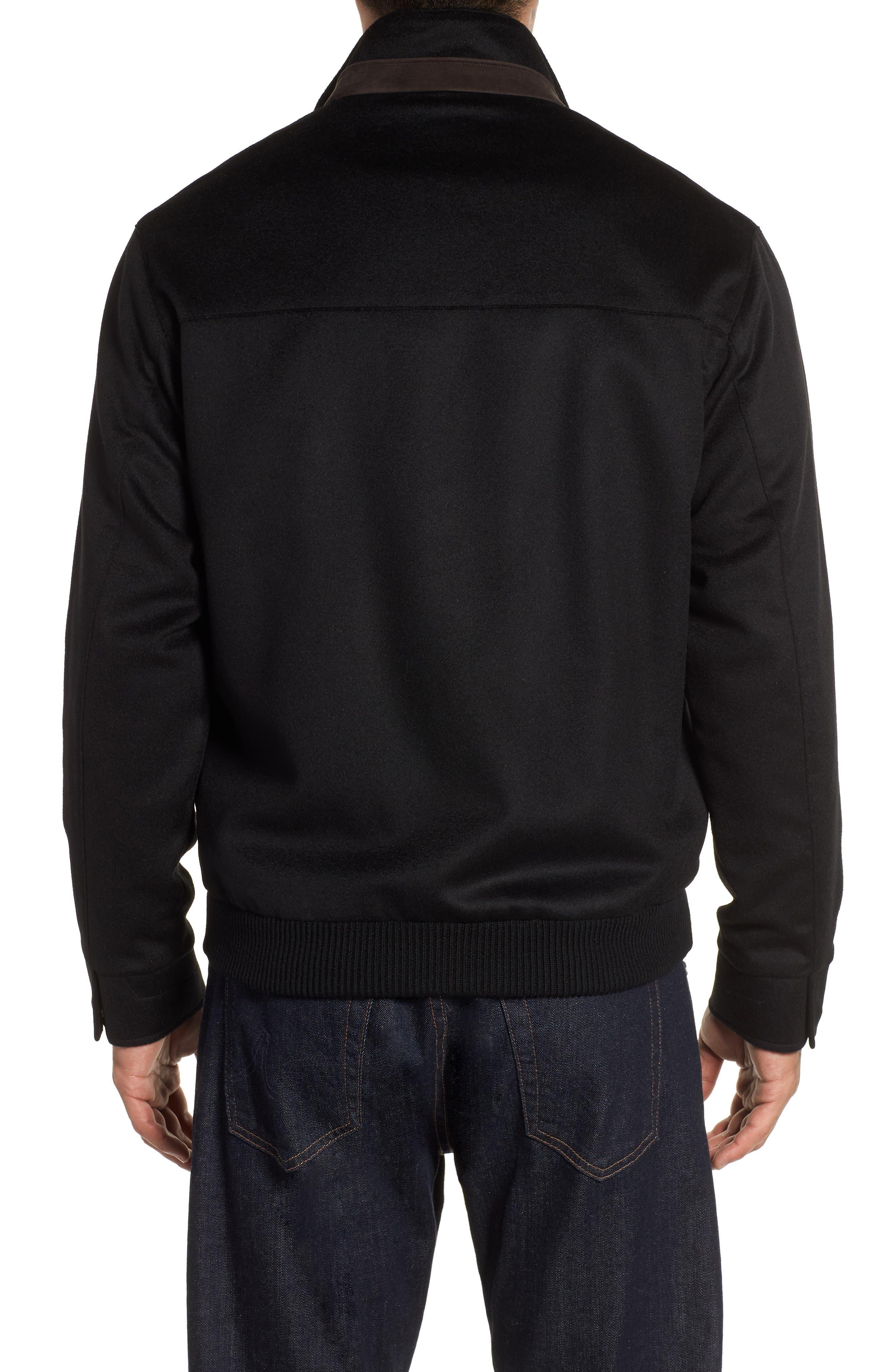 Westport Crown Wool & Cashmere Jacket,                             Alternate thumbnail 2, color,                             001