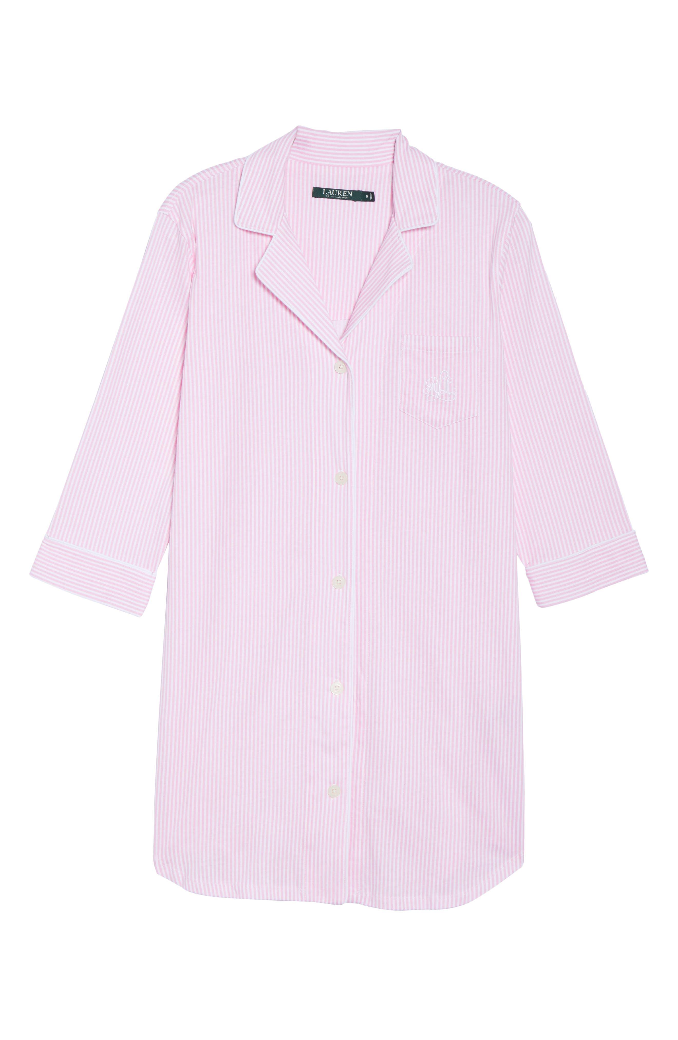 Jersey Sleep Shirt,                             Alternate thumbnail 43, color,