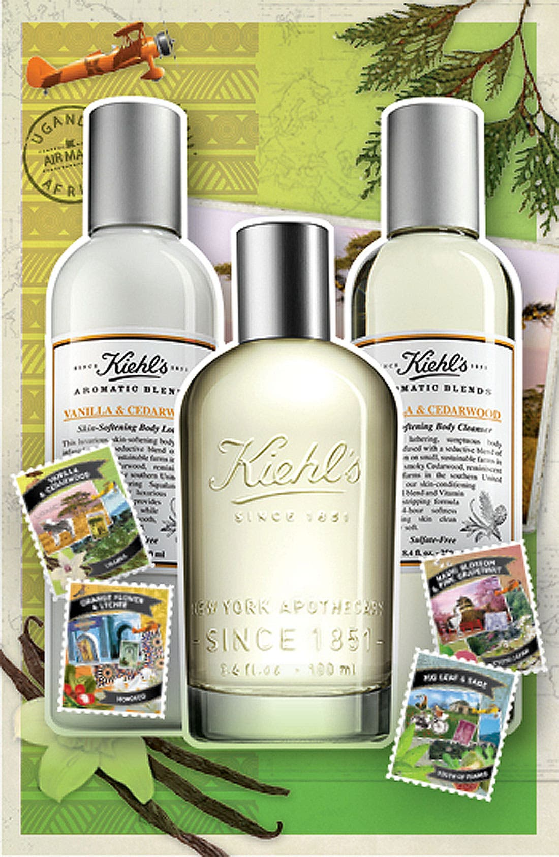 'Aromatic Blends - Vanilla & Cedarwood' Fragrance,                             Alternate thumbnail 2, color,                             000