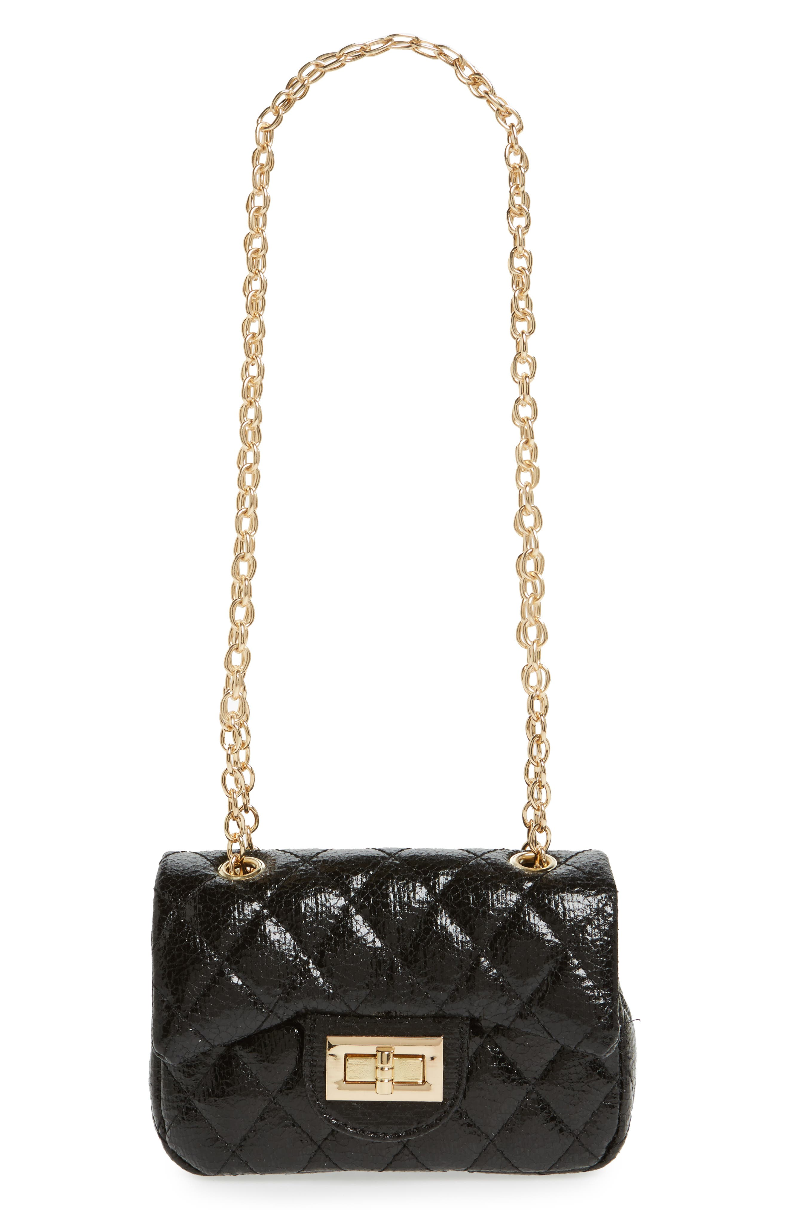 POPATU Quilted Crossbody Bag, Main, color, 001
