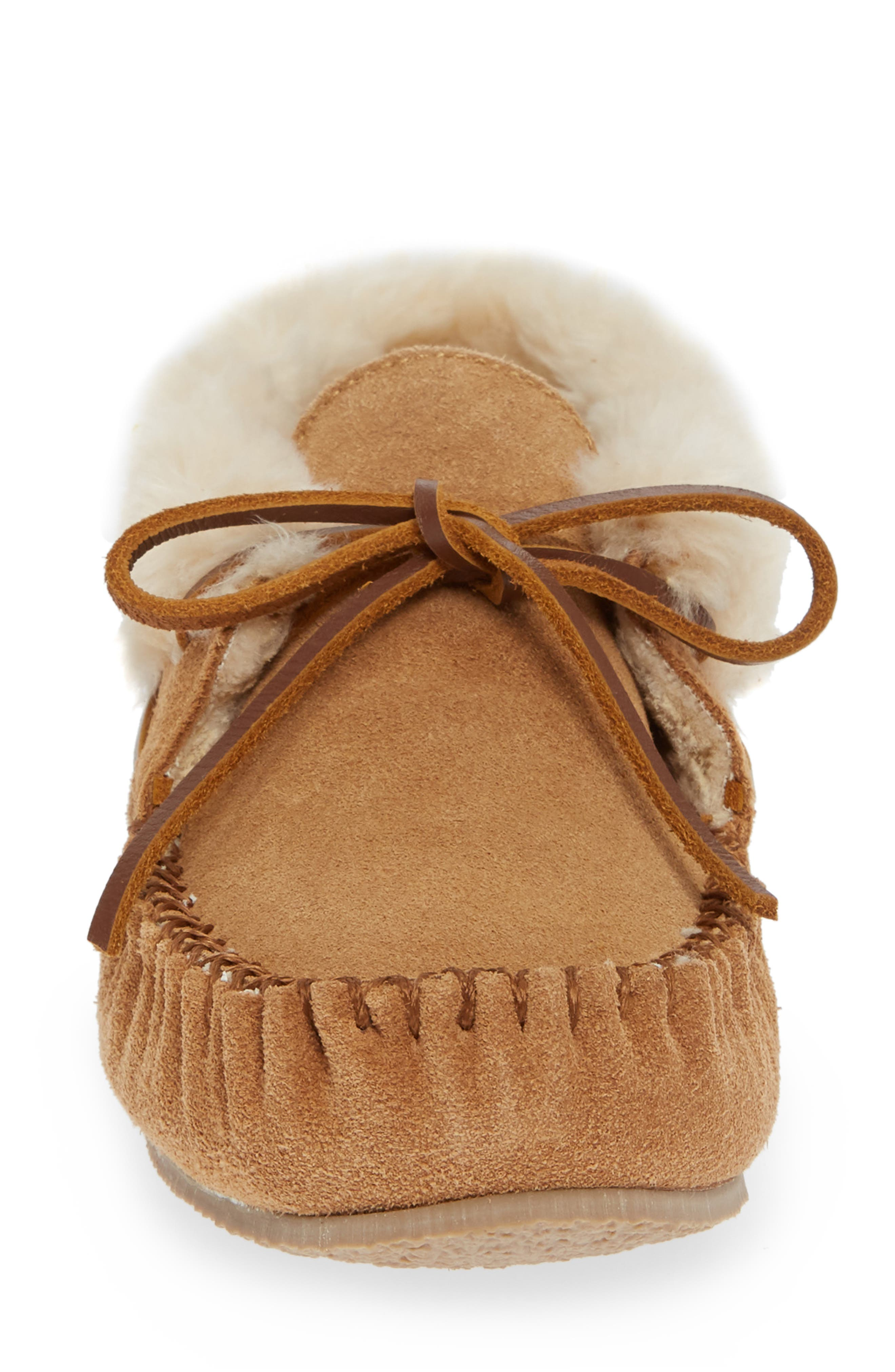 'Chrissy' Slipper Bootie,                             Alternate thumbnail 5, color,                             CINNAMON SUEDE