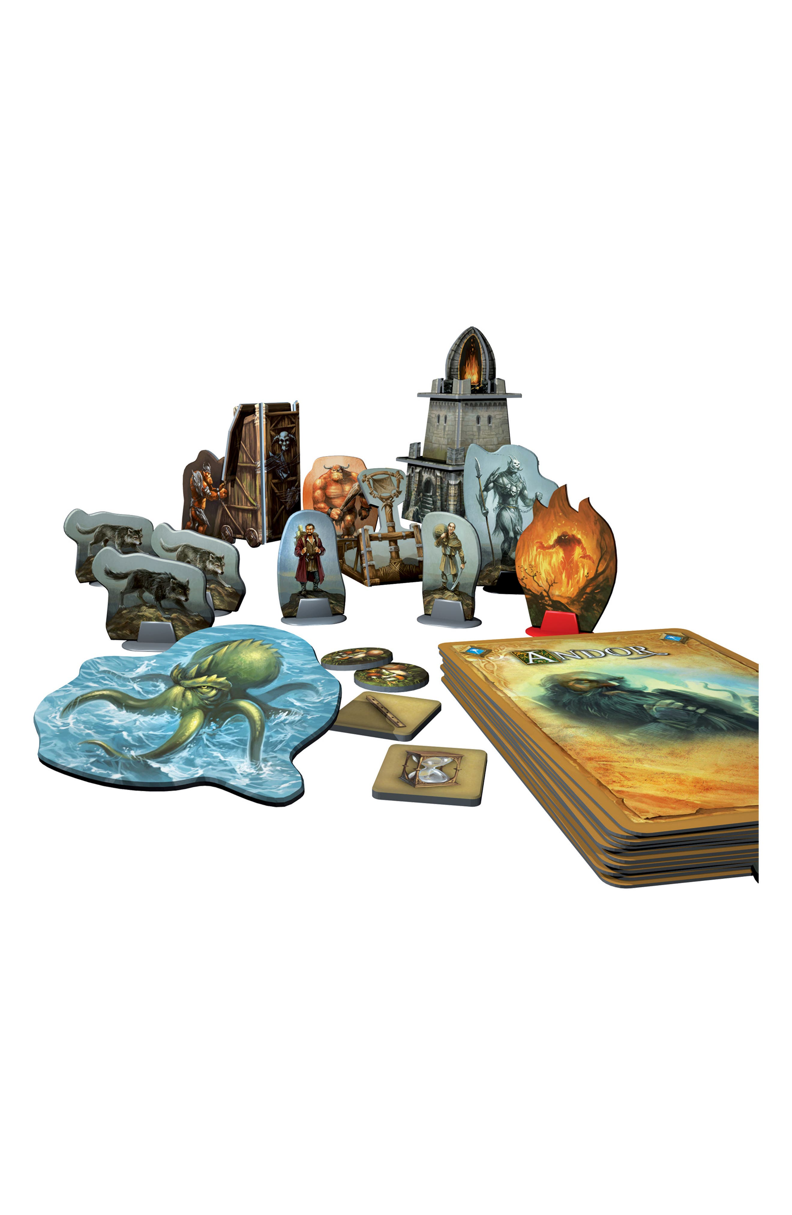 'Legends of Andor - The Star Shield' Game Expansion Pack,                             Alternate thumbnail 4, color,                             BROWN