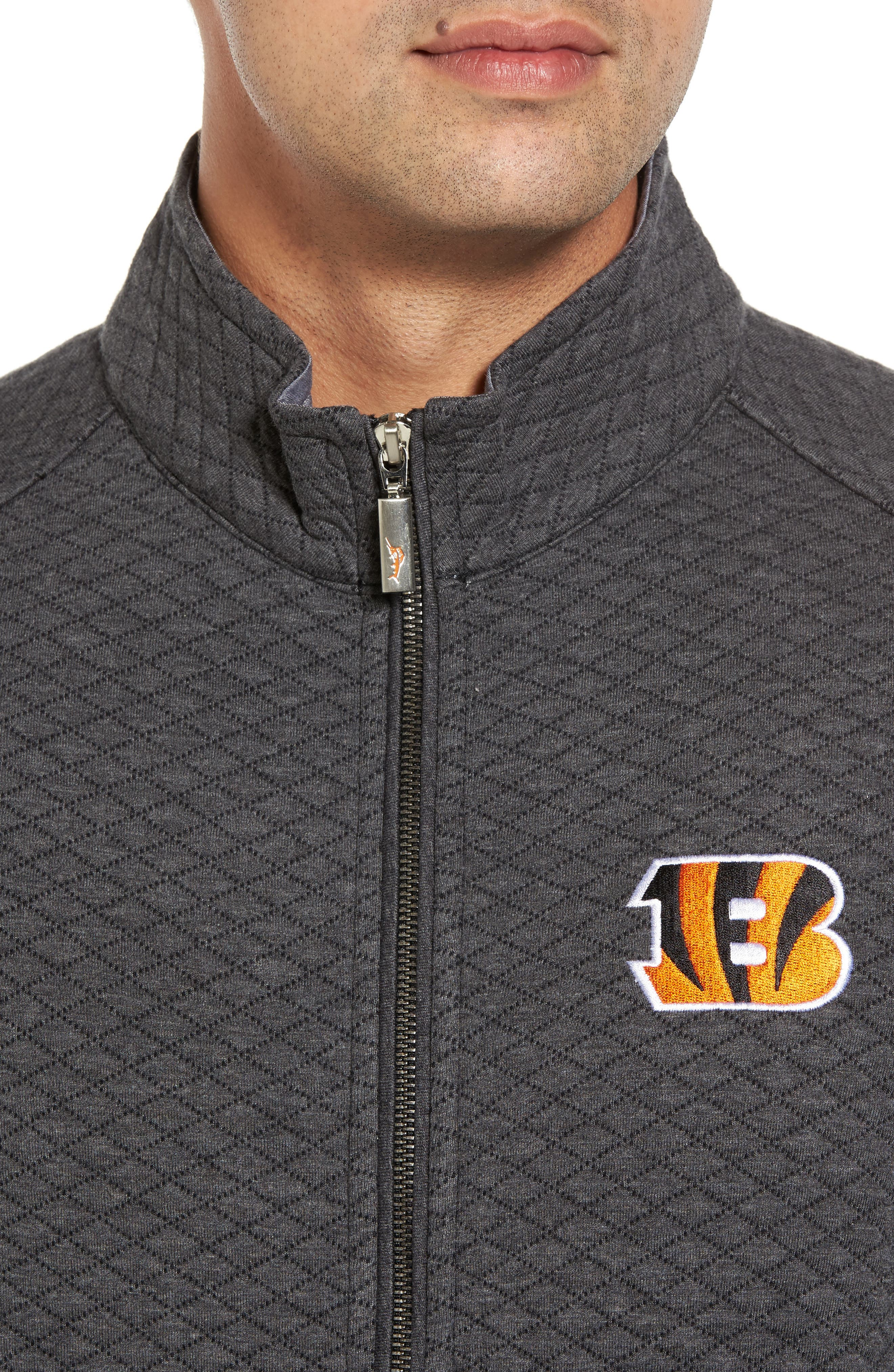 NFL Quiltessential Full Zip Sweatshirt,                             Alternate thumbnail 97, color,